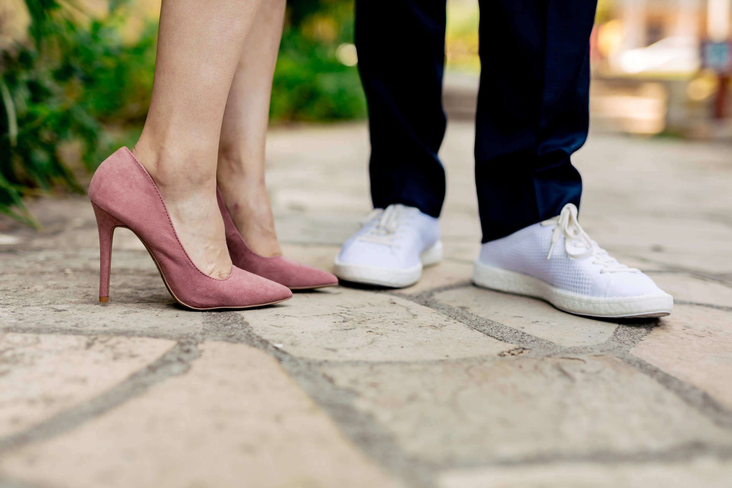 www.santabarbarawedding.com   Rewind Photography   Santa Barbara Courthouse   Elopement   Bride and Groom's Shoes