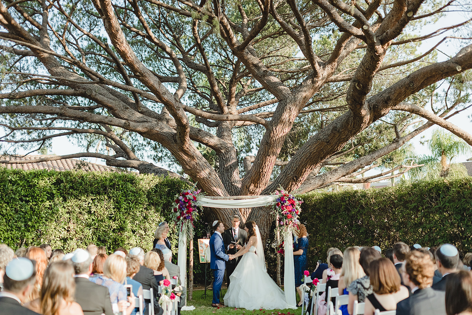 www.santabarbarawedding.com | Waller Weddings | Riviera Mansion | Amy Grace Events | Ceremony