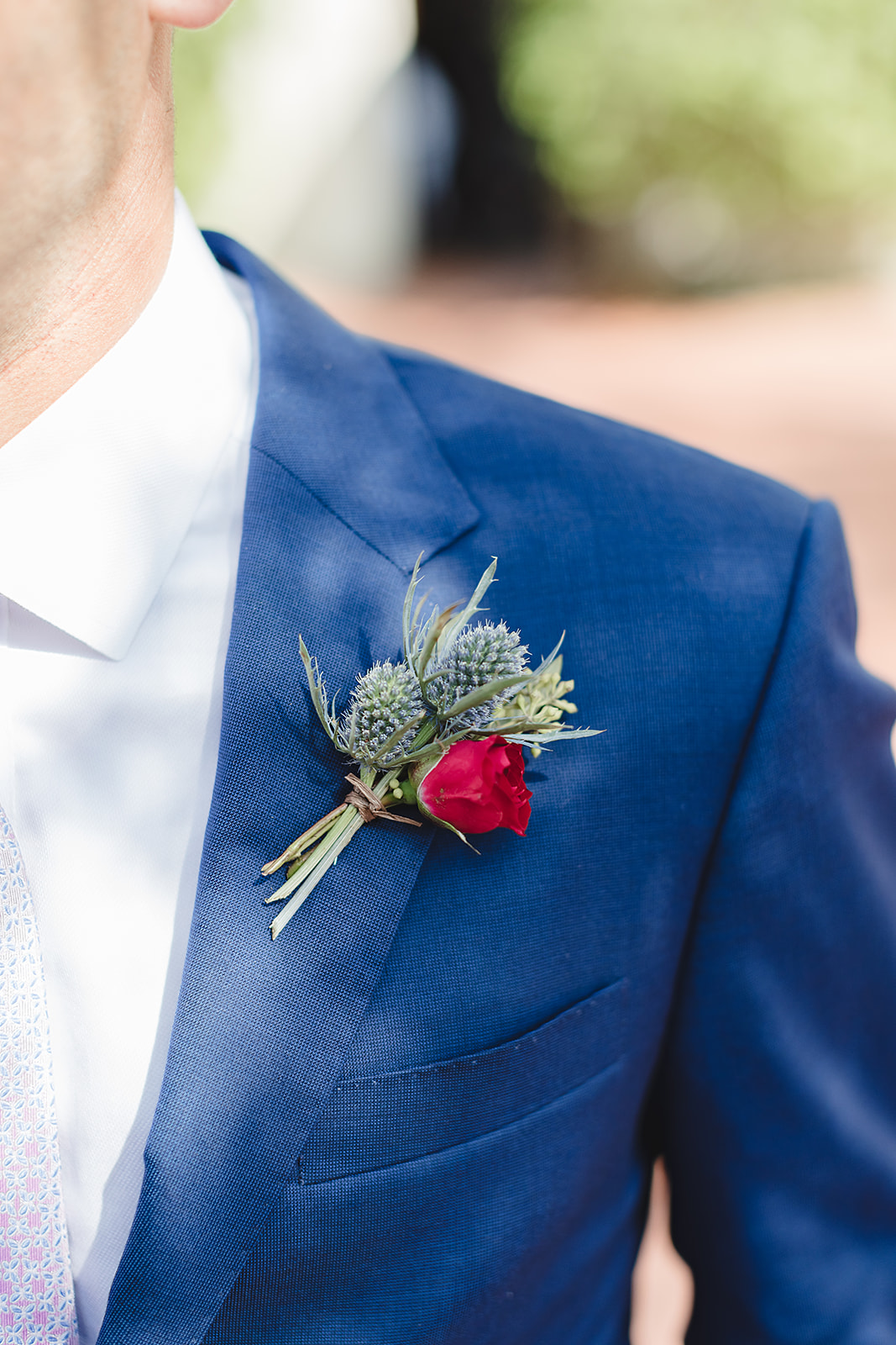 www.santabarbarawedding.com | Waller Weddings | Riviera Mansion | Amy Grace Events | Boutonniere