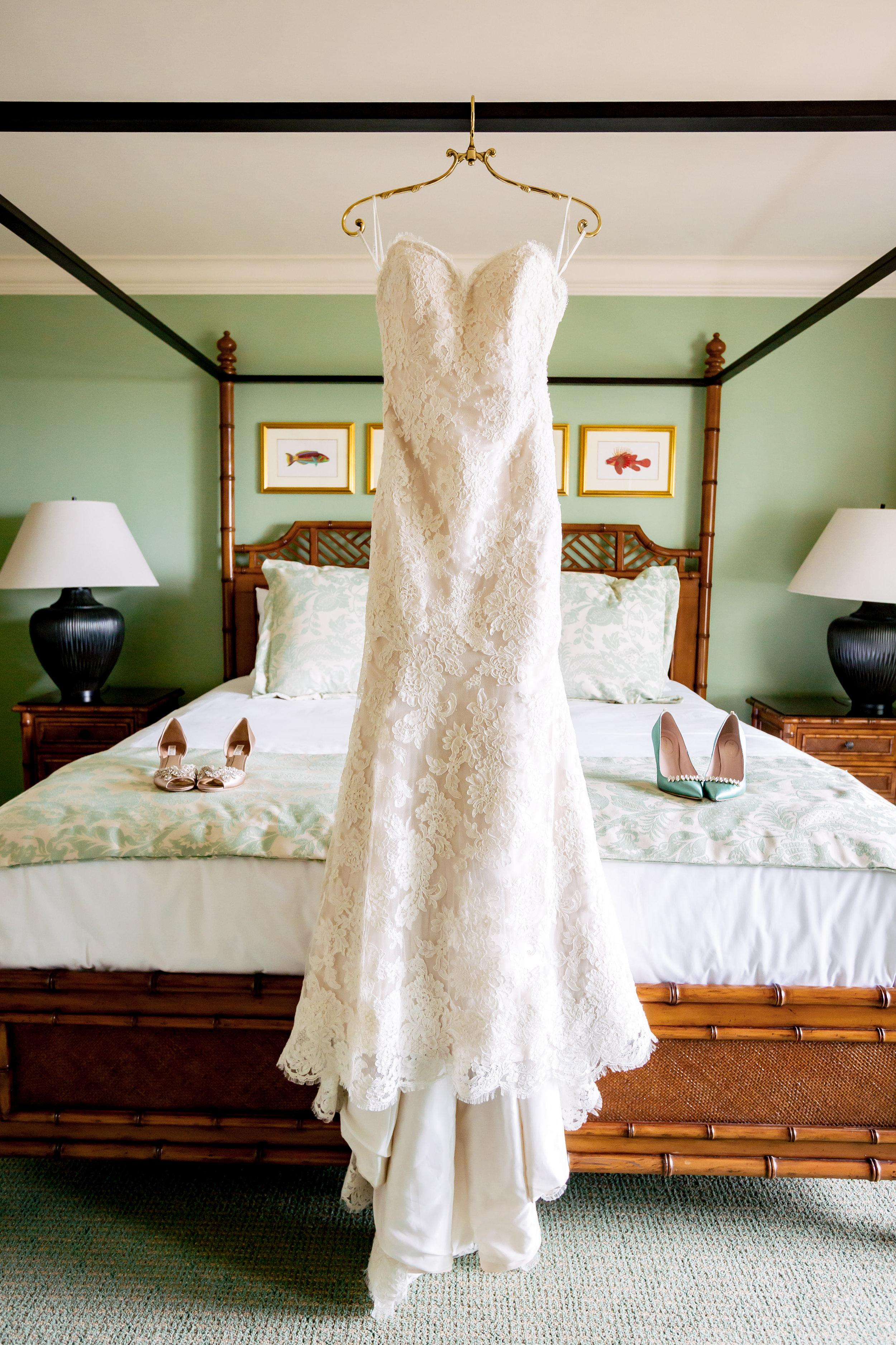 www.santabarbarawedding.com | Rewind Photography | Events by M and M | Santa Barbara Historical Museum | Wedding Dress