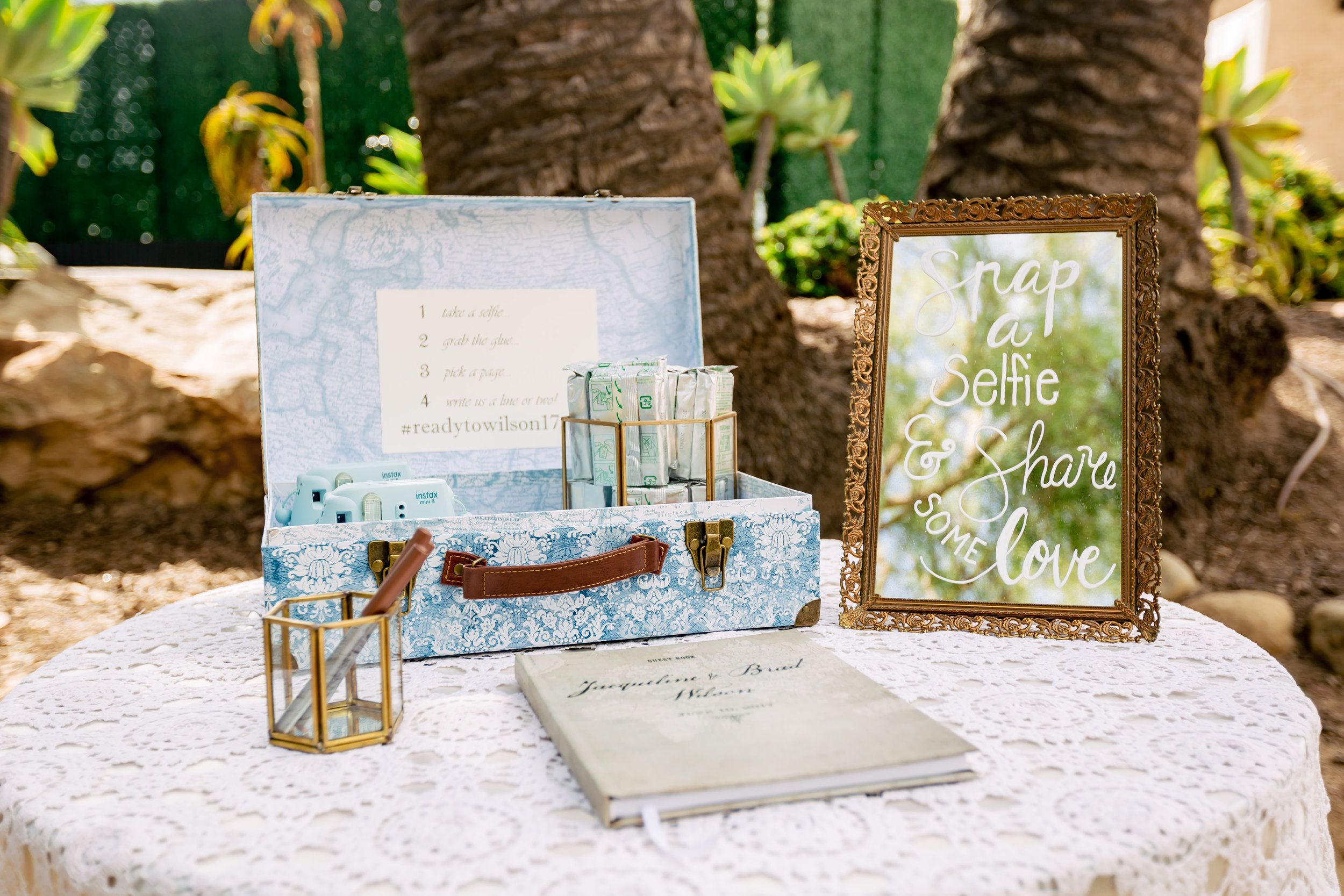 www.santabarbarawedding.com | Rewind Photography | Events by M and M | Santa Barbara Historical Museum | Photo Guest Book