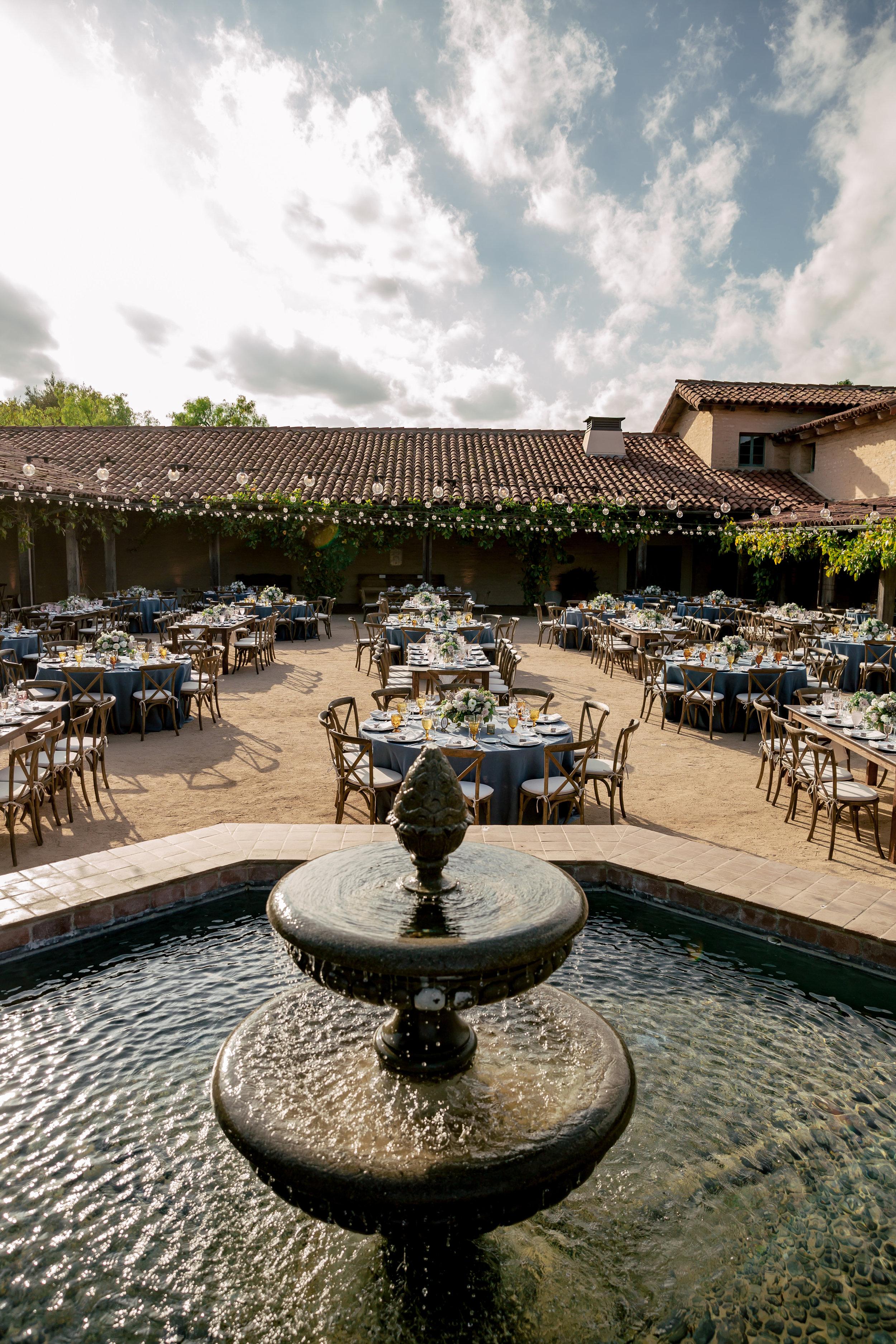 www.santabarbarawedding.com | Rewind Photography | Events by M and M | Santa Barbara Historical Museum | Reception