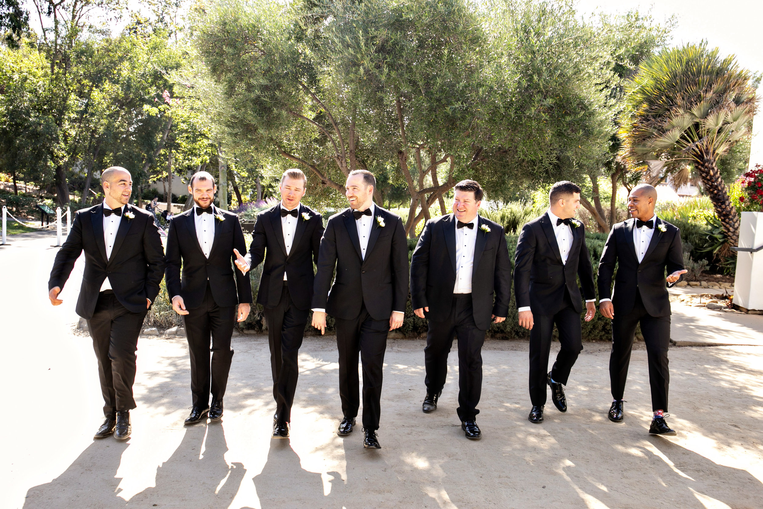 www.santabarbarawedding.com | Laurie Bailey | Ojai Valley Inn | Amber Weir Weddings | Groomsmen