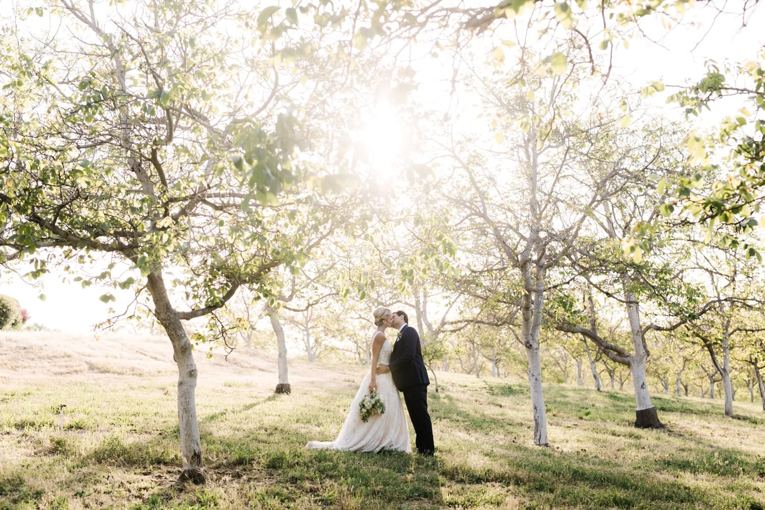 www.santabarbarawedding.com | Anne Delores | Rancho Bella Vista | Wild Heart Events | Bride and Groom