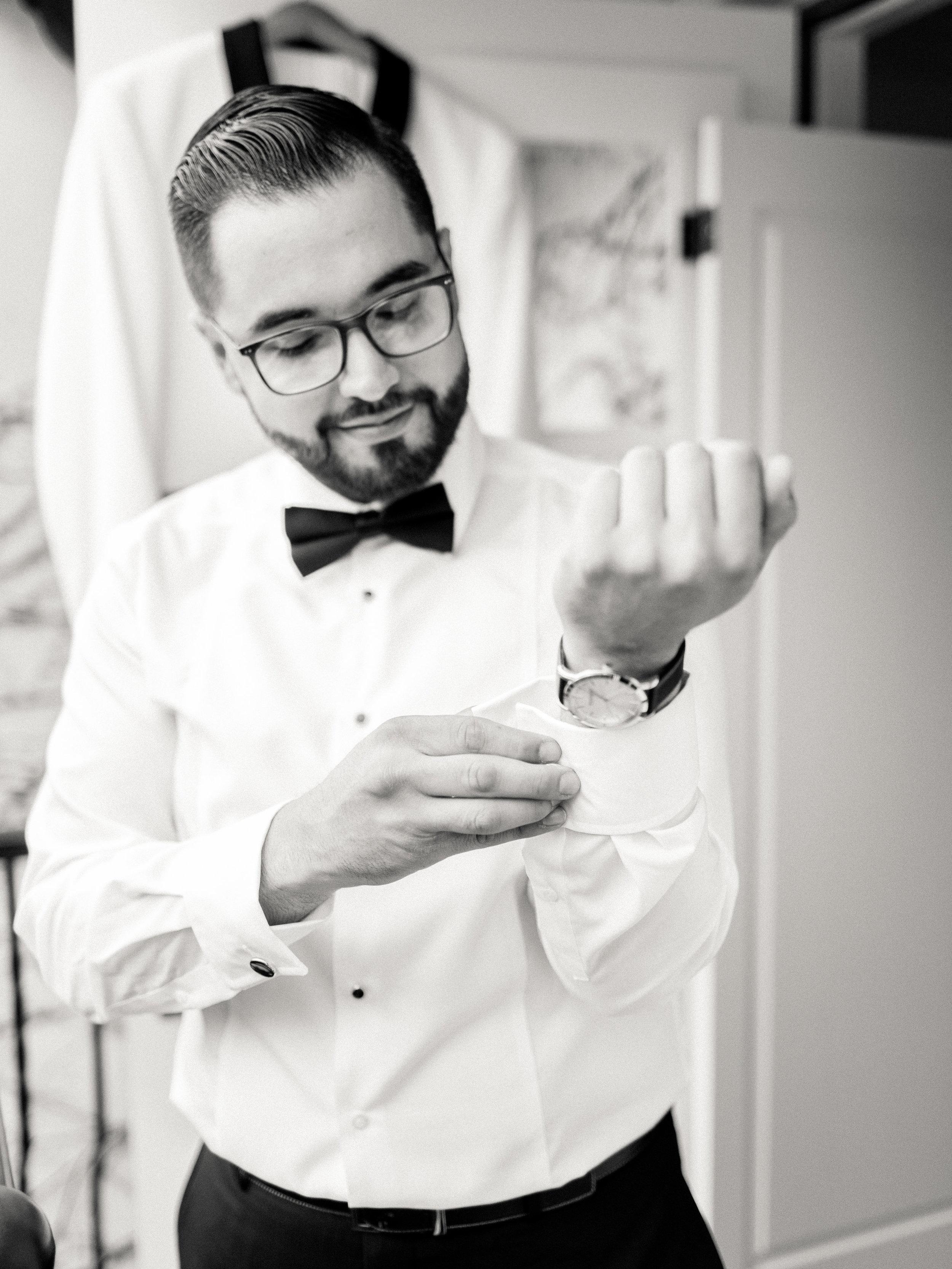 www.santabarbarawedding.com | Hotel Californian | Kiel Rucker | Groom getting ready