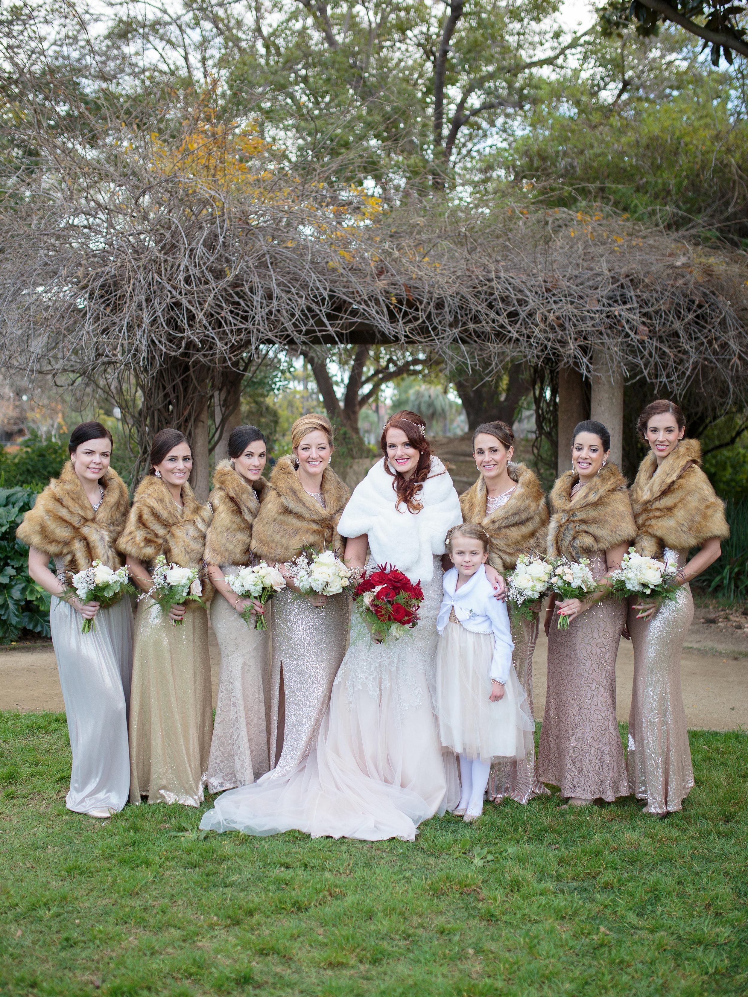 www.santabarbarawedding.com | Hotel Californian | Kiel Rucker | Bridesmaids