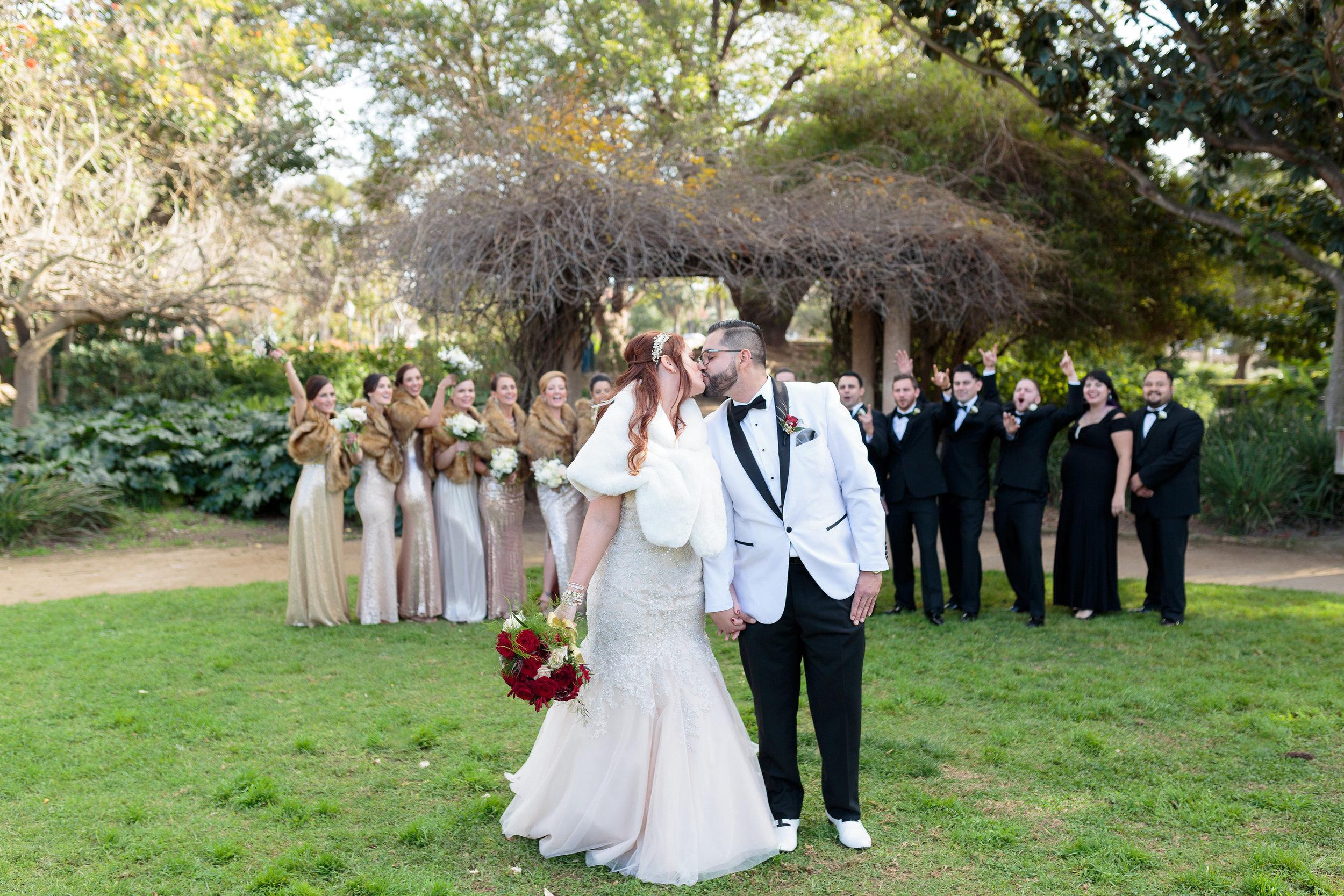 www.santabarbarawedding.com | Hotel Californian | Kiel Rucker | Bridal Party