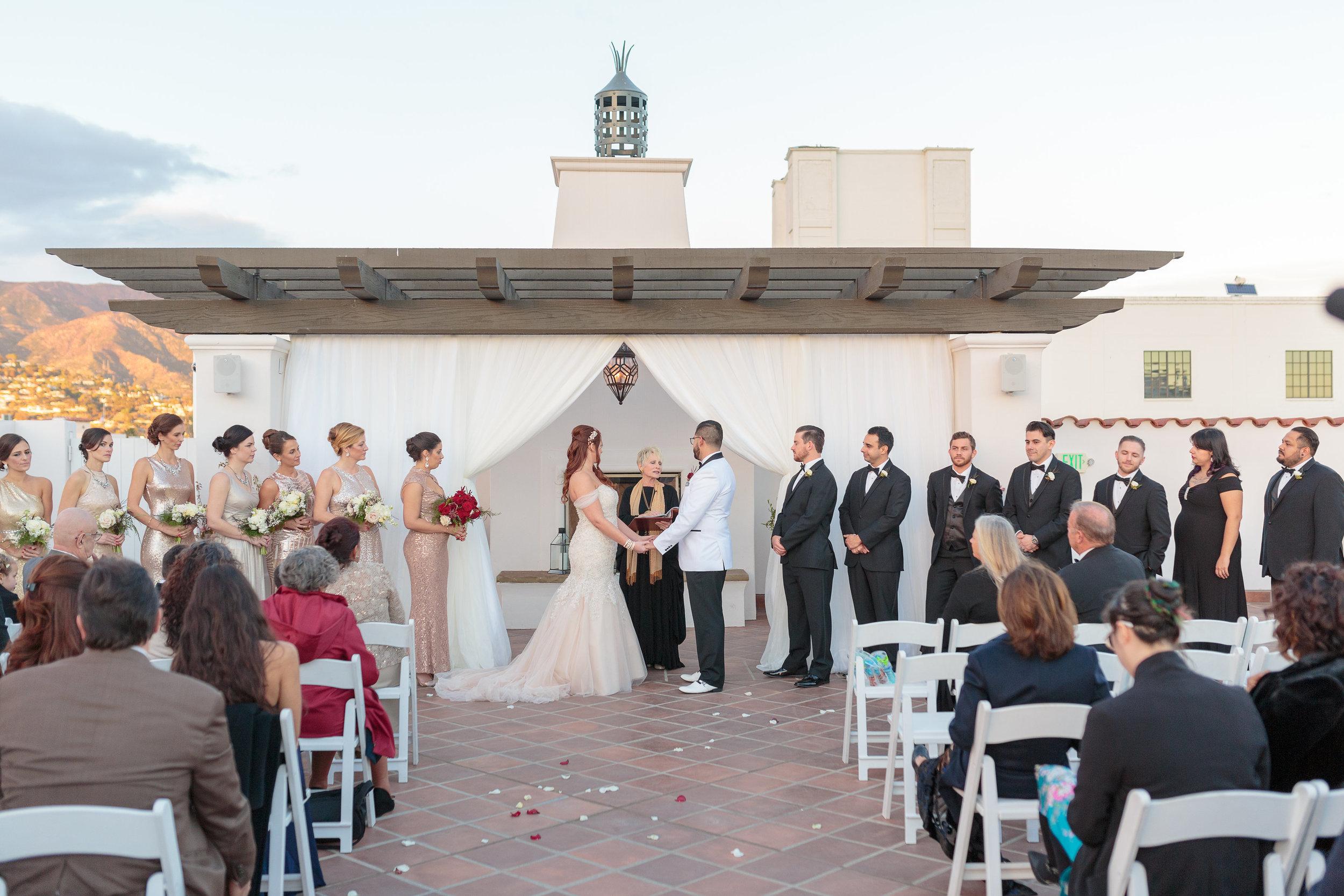 www.santabarbarawedding.com | Hotel Californian | Kiel Rucker | Ceremony
