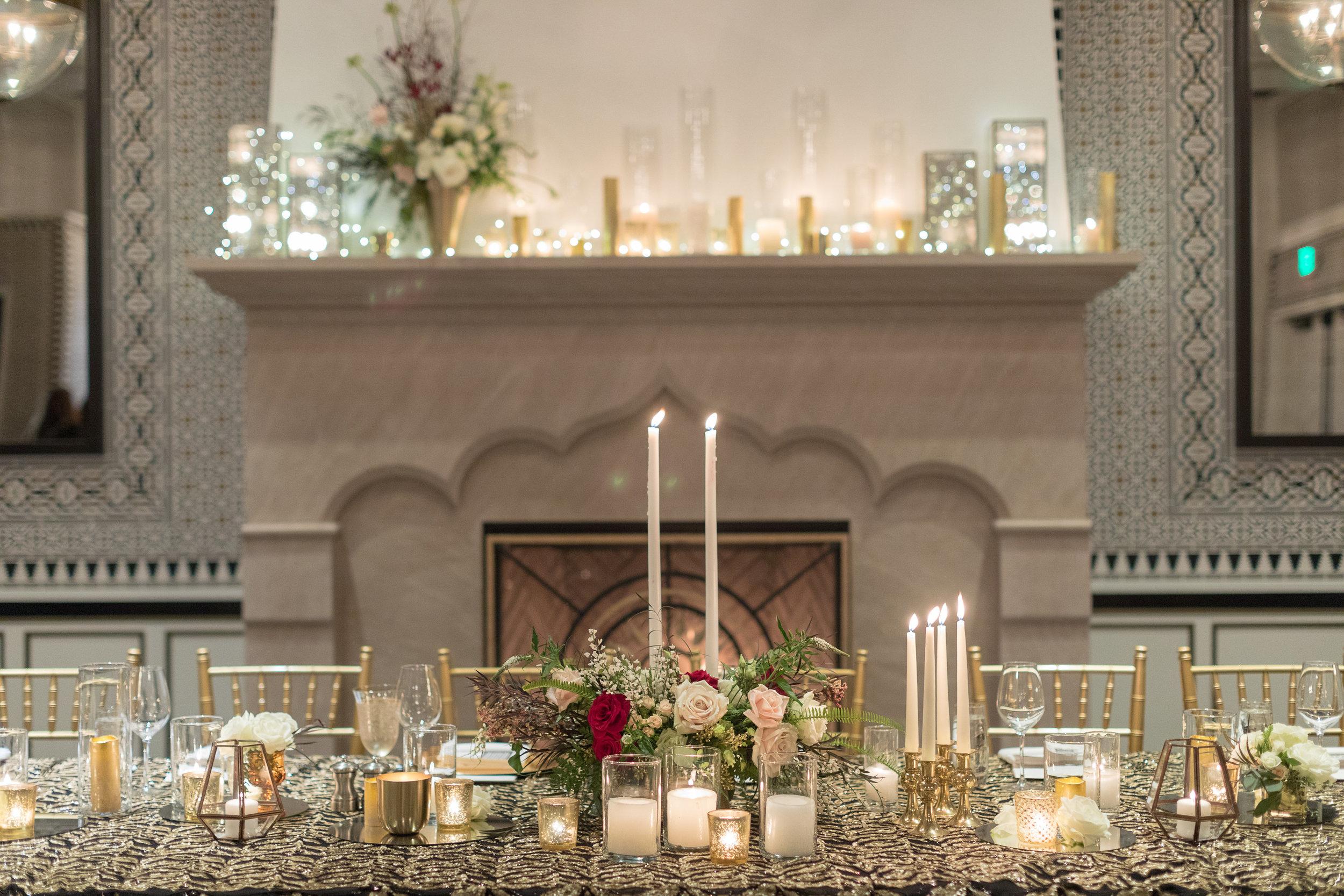 www.santabarbarawedding.com | Hotel Californian | Kiel Rucker | Head Table