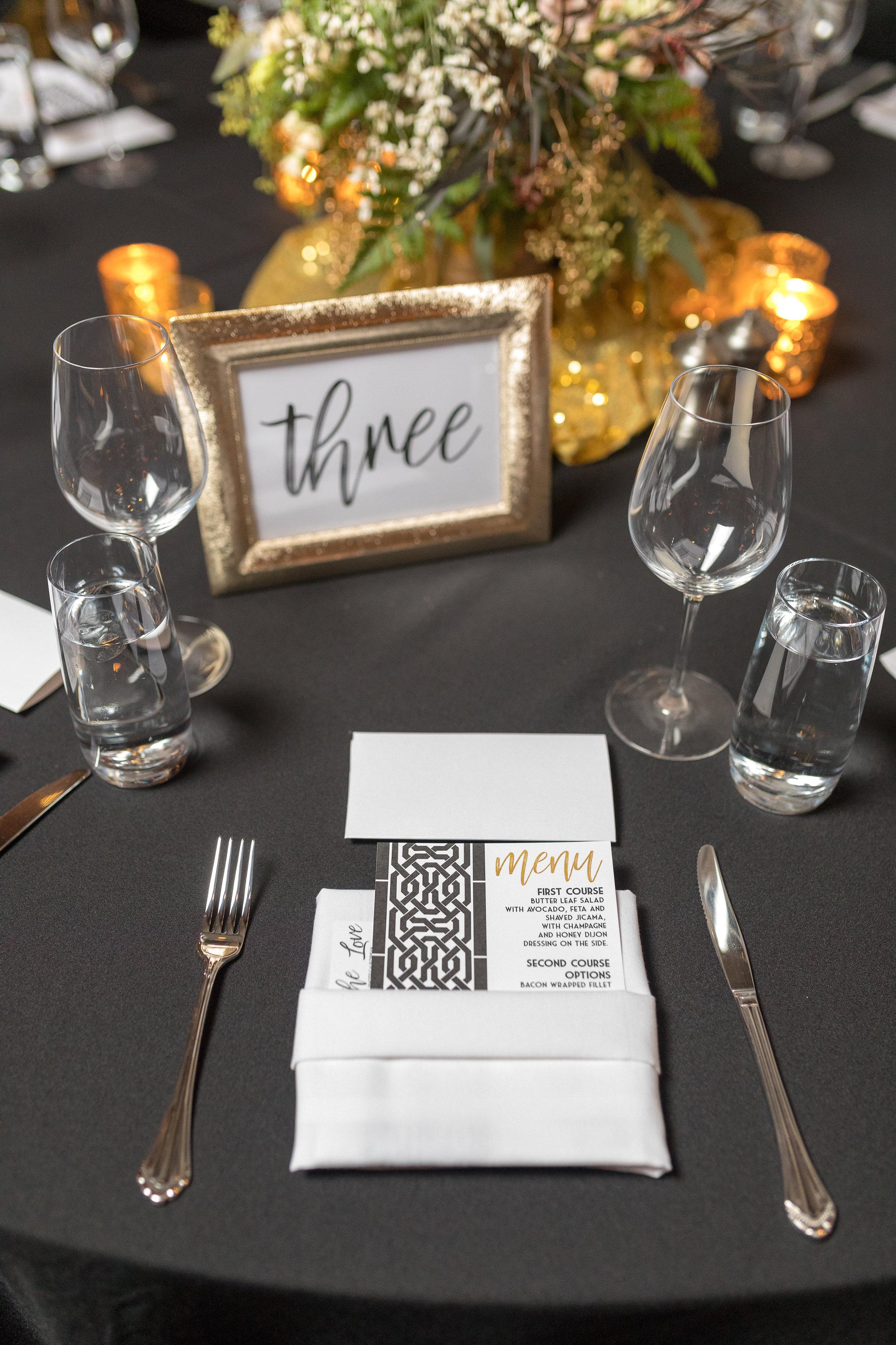 www.santabarbarawedding.com | Hotel Californian | Kiel Rucker | Place Setting