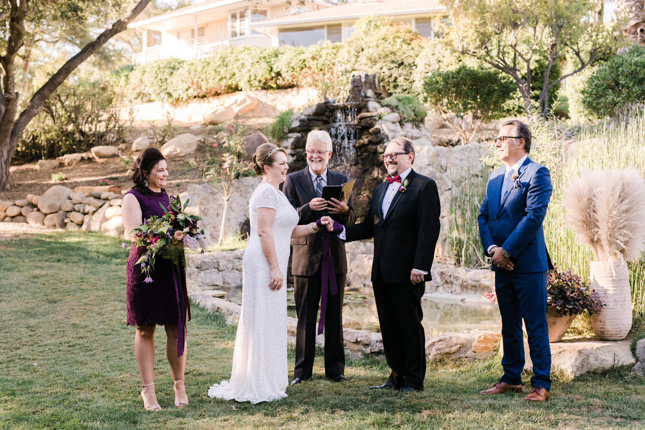 www.santabarbarawedding.com | Anna Delores | Ojai Retreat | Ceremony