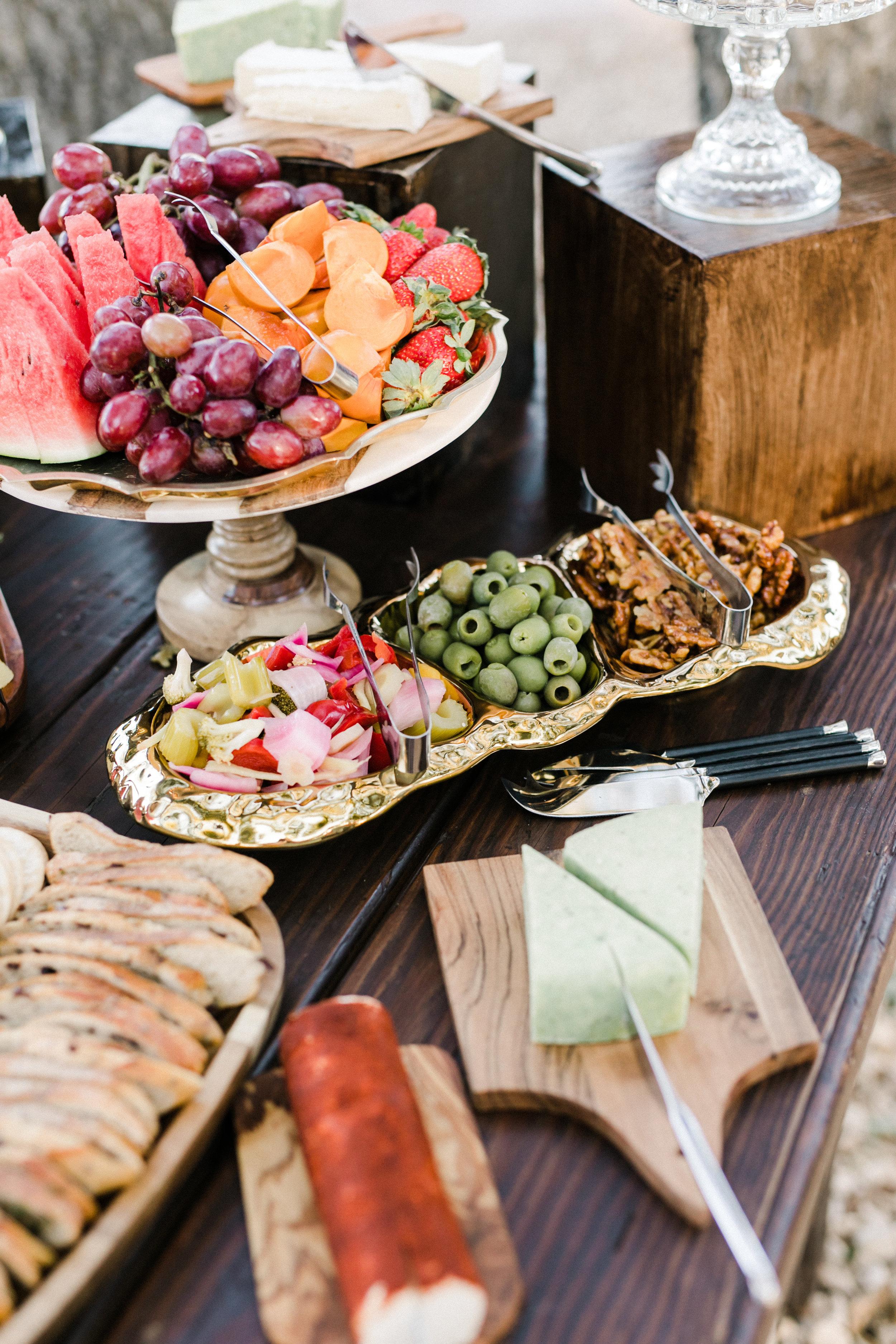 www.santabarbarawedding.com | Anna Delores | Ojai Retreat | Appetizers