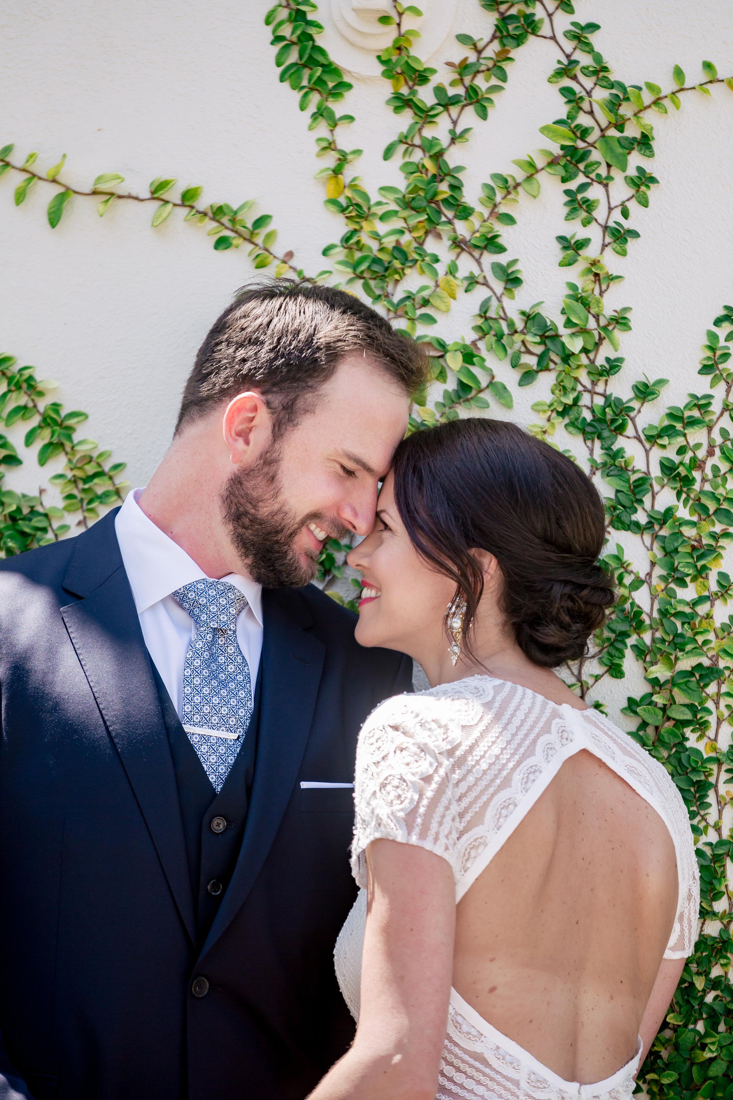 www.santabarbarawedding.com | Rewind Photography | Santa Barbara Club | Bride and Groom