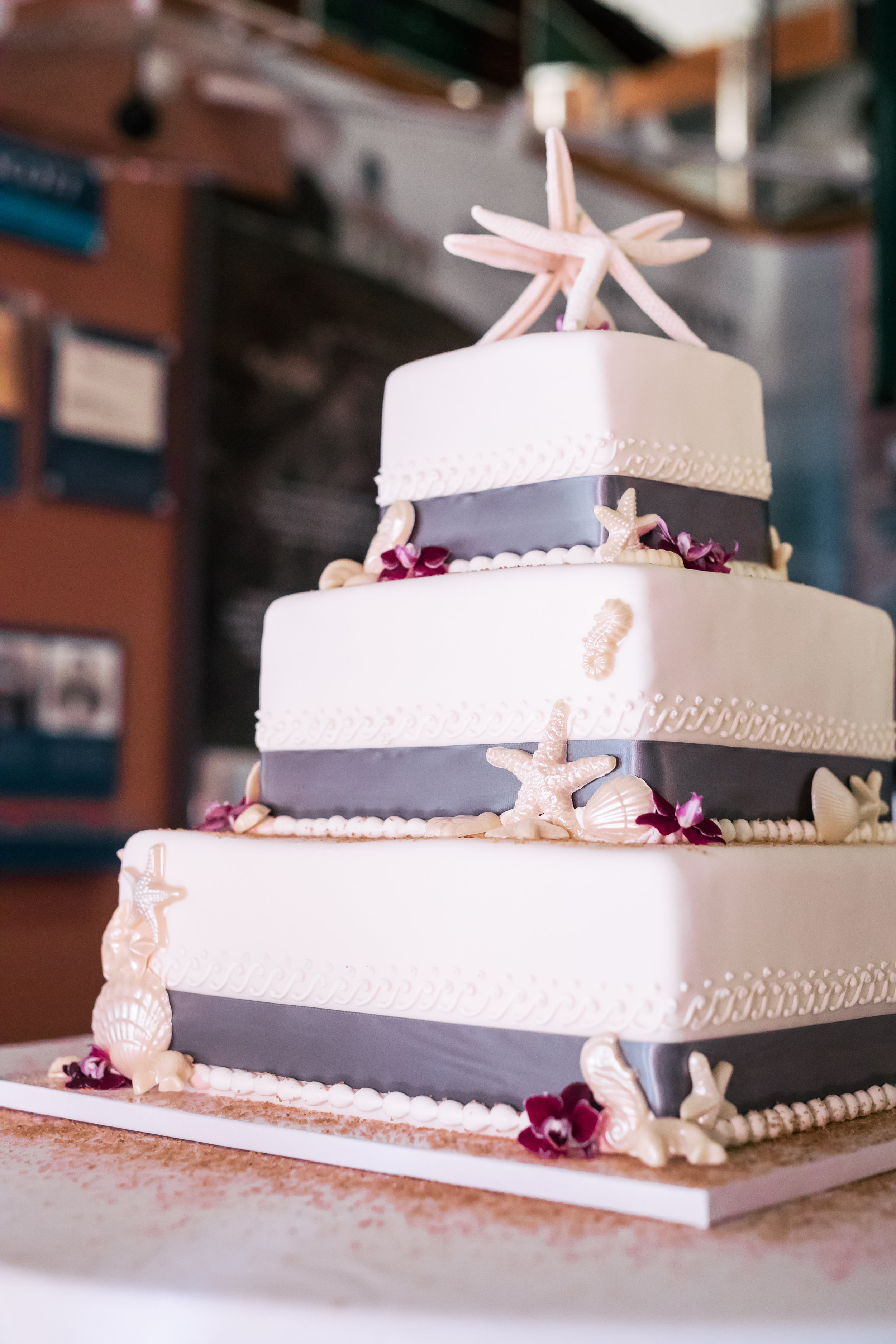 www.santabarbarawedding.com | Rewind Photography | SB Maritime Museum | Santa Barbara Mission | Wedding Cake