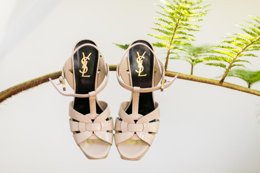 www.santabarbarawedding.com | Belmond El Encanto | Allyson Magda | Bride's Shoes