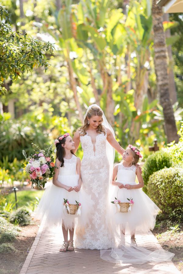 www.santabarbarawedding.com | Belmond El Encanto | Allyson Magda | Flower Girls