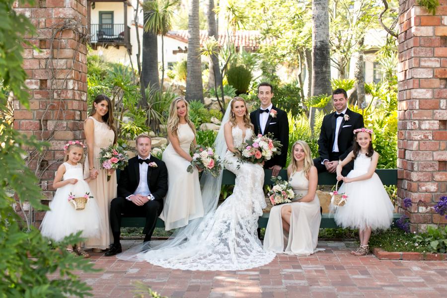 www.santabarbarawedding.com | Belmond El Encanto | Allyson Magda | Bridal Party