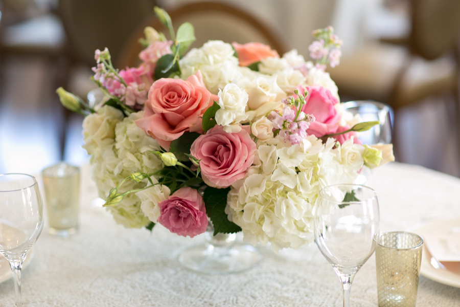 www.santabarbarawedding.com | Belmond El Encanto | Allyson Magda | Floral Arrangement