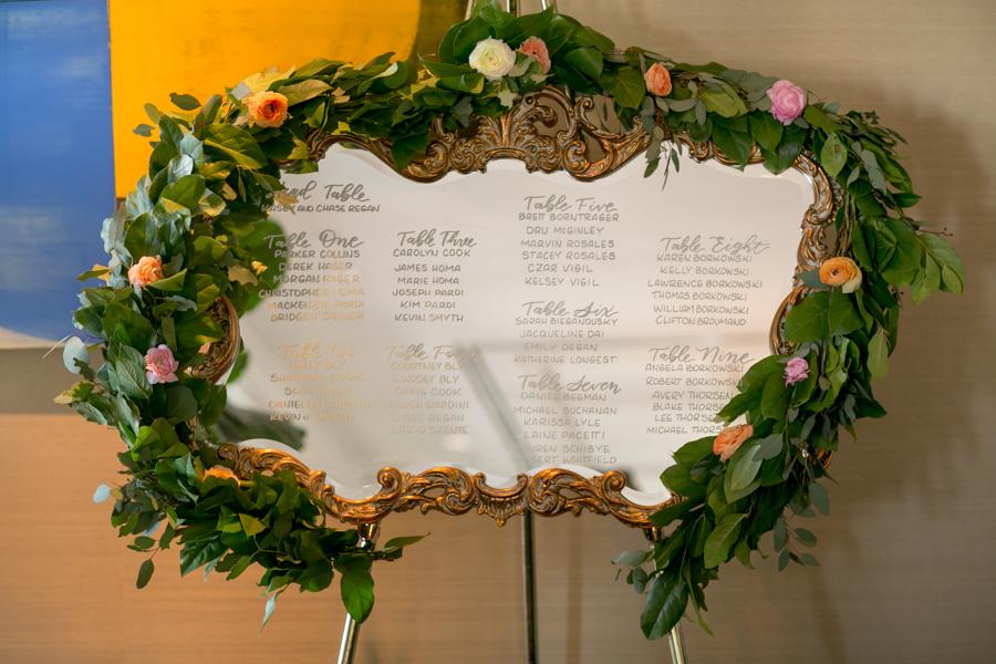 www.santabarbarawedding.com | Belmond El Encanto | Allyson Magda | Seating Chart