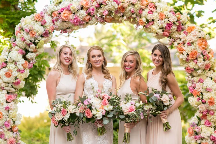 www.santabarbarawedding.com | Belmond El Encanto | Allyson Magda | Bridesmaids