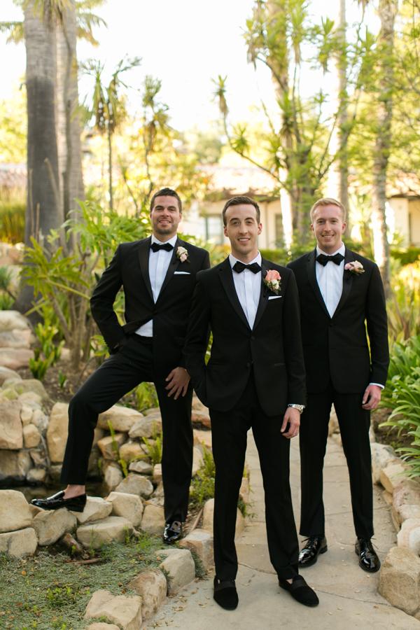 www.santabarbarawedding.com | Belmond El Encanto | Allyson Magda | Groomsmen