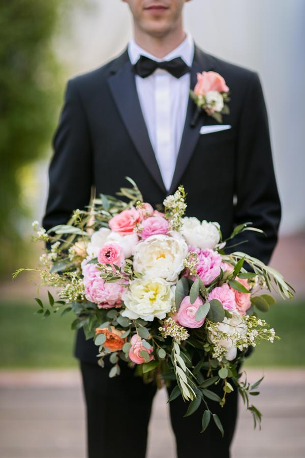 www.santabarbarawedding.com | Belmond El Encanto | Allyson Magda | Bouquet
