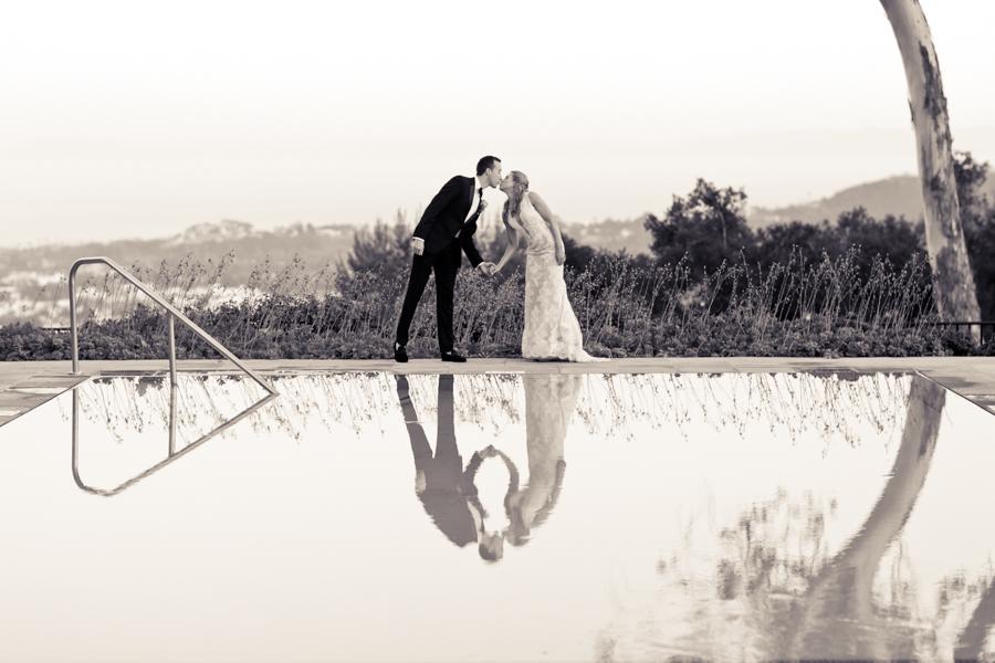 www.santabarbarawedding.com | Belmond El Encanto | Allyson Magda | Bride and Groom