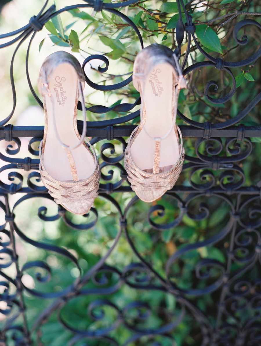 www.santabarbarawedding.com | Soigne Productions | Lane Dittoe | Bride's Shoes