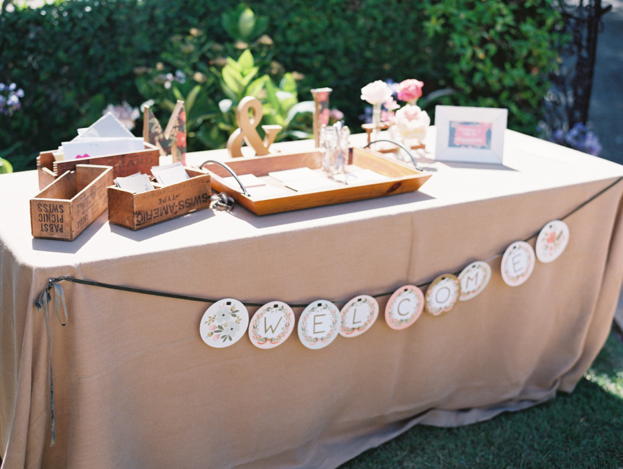 www.santabarbarawedding.com | Soigne Productions | Lane Dittoe | Gift Table