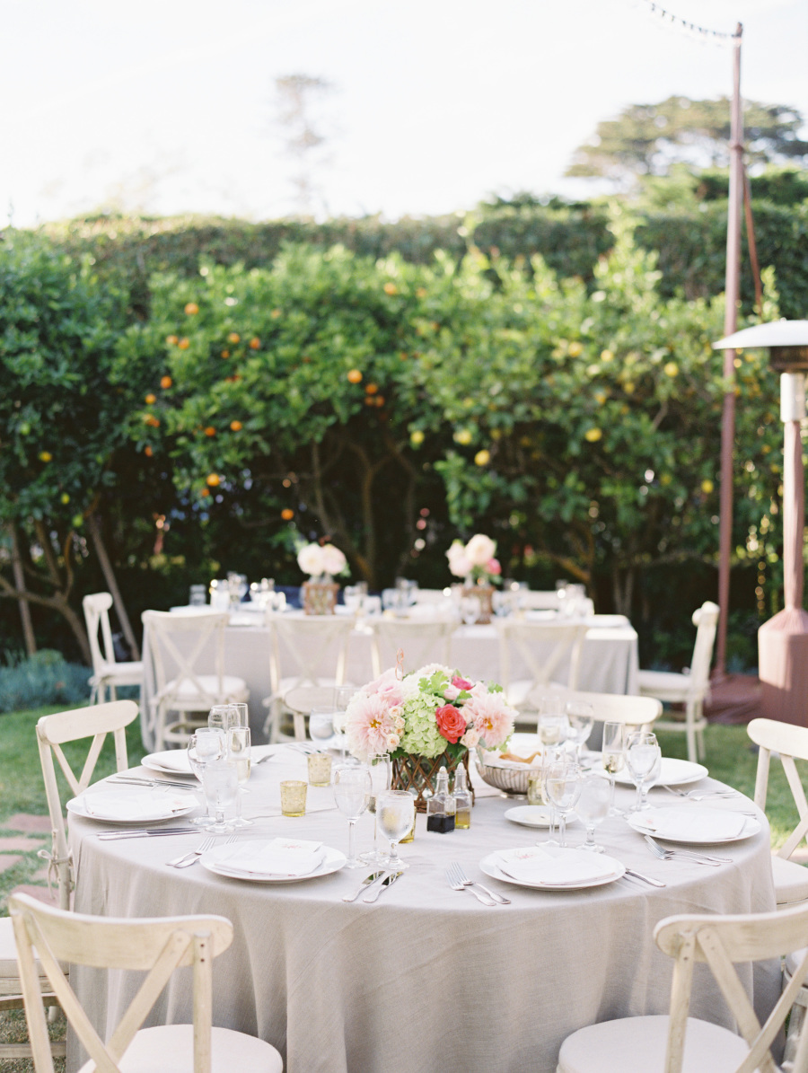www.santabarbarawedding.com | Soigne Productions | Lane Dittoe | Reception Table