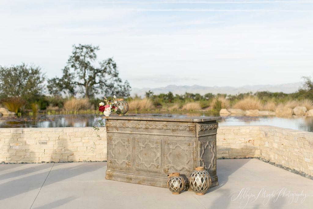 www.SantaBarbaraWedding.com | Presq'uile Winery | Theoni Collection | Toast Santa Barbara | Wedding Venue | Reception | Allyson Magda Photography