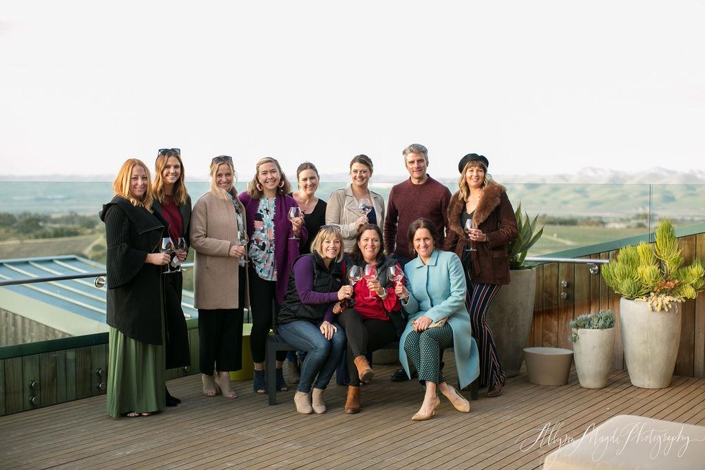 www.SantaBarbaraWedding.com | Presq'uile Winery | Theoni Collection | Toast Santa Barbara | Wedding Planners | Allyson Magda Photography