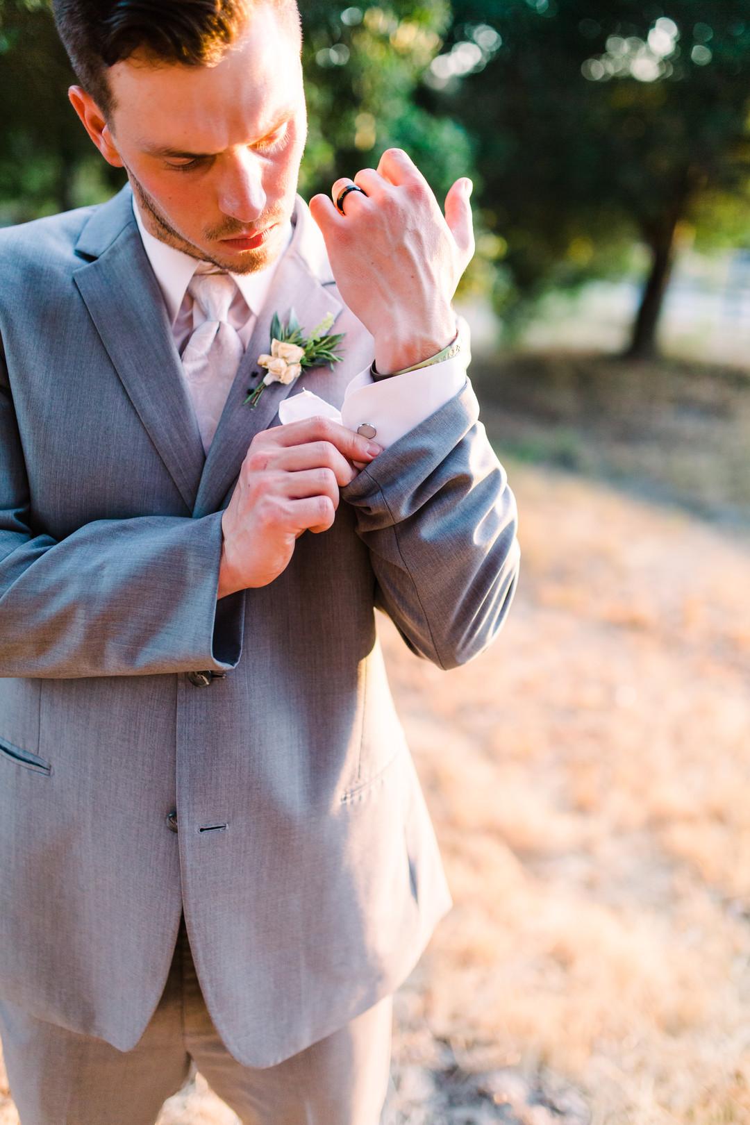 www.santabarbarawedding.com | Loriana | Hannah Kate Photo | Groom