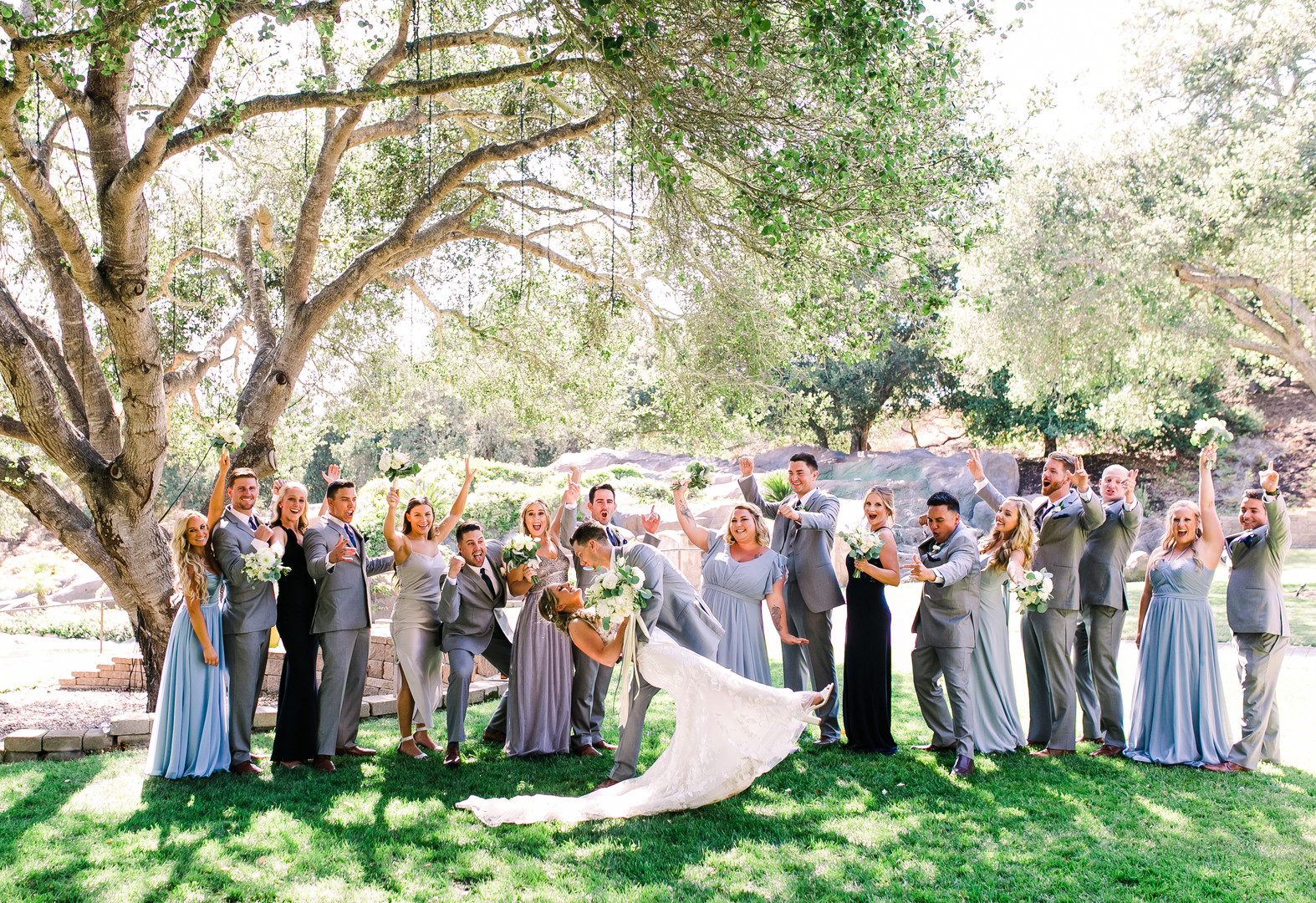www.santabarbarawedding.com | Loriana | Hannah Kate Photo | Bridal Party