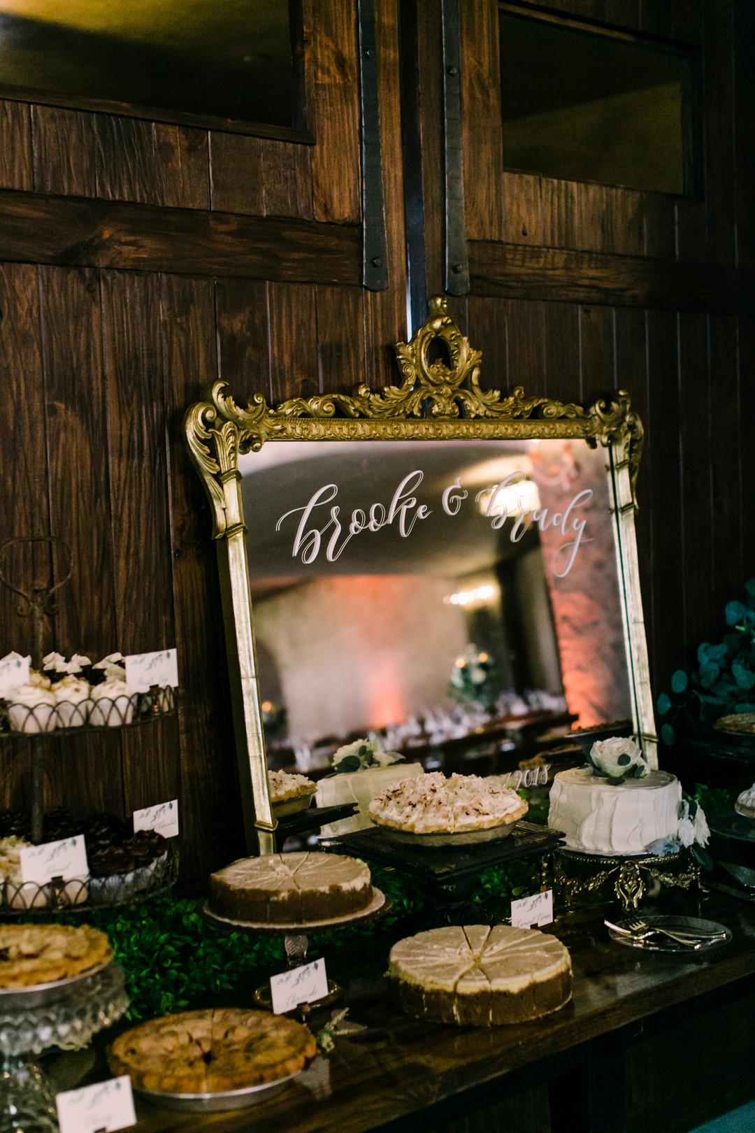 www.santabarbarawedding.com | Loriana | Hannah Kate Photo | Dessert Table