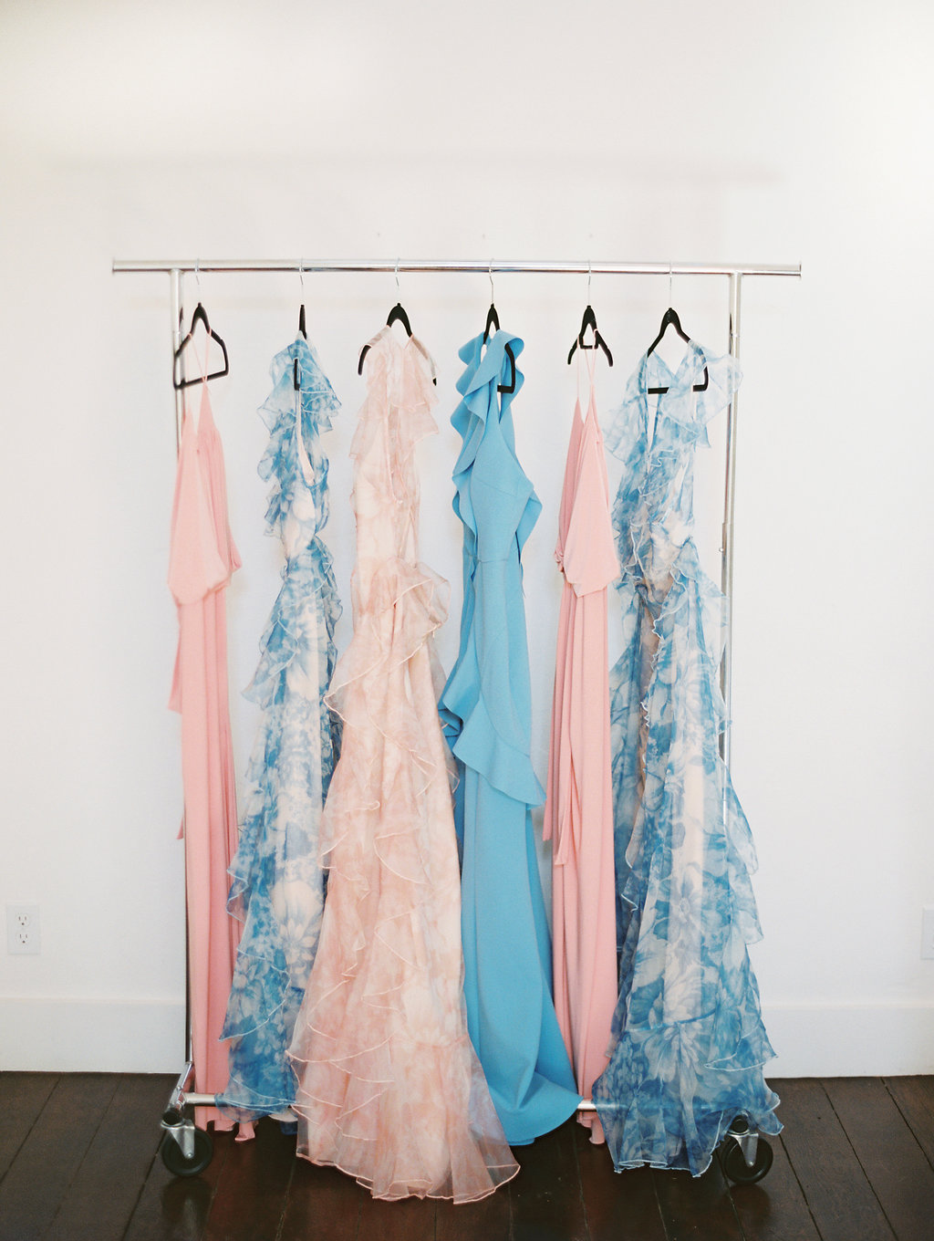 www.santabarbarawedding.com | Soleil Events | Mattei's Tavern | Bridesmaids Gowns