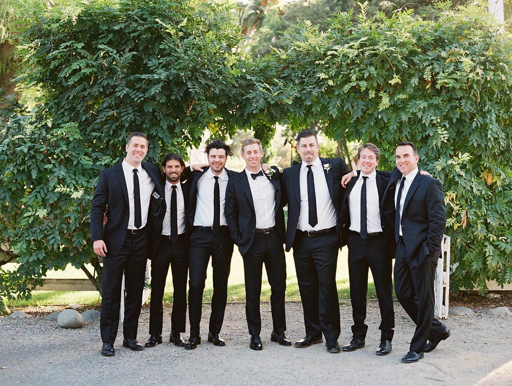 www.santabarbarawedding.com | Soleil Events | Mattei's Tavern | Groomsmen