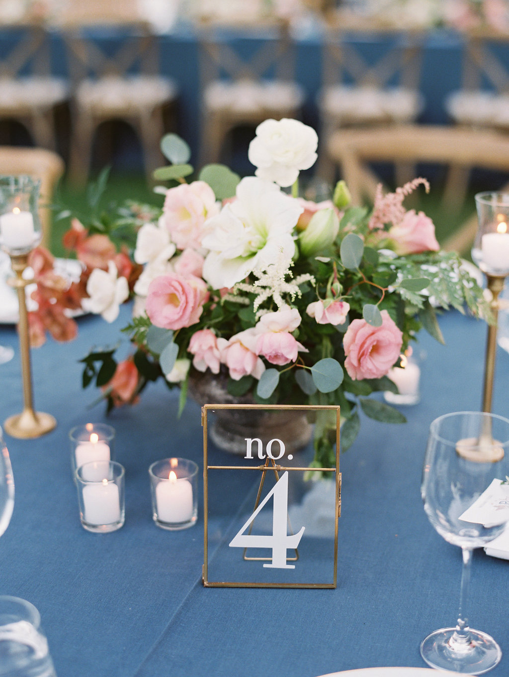 www.santabarbarawedding.com | Soleil Events | Mattei's Tavern | Reception Table Number