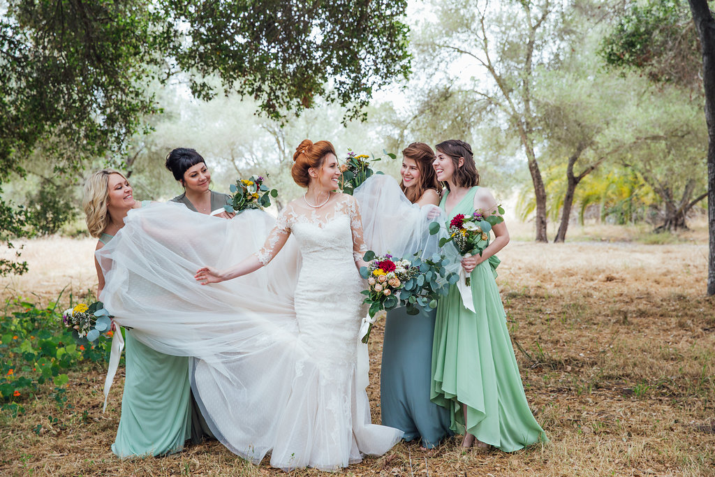 www.santabarbarawedding.com   green bridesmaid dresses   mint green inspiration   wedding trends