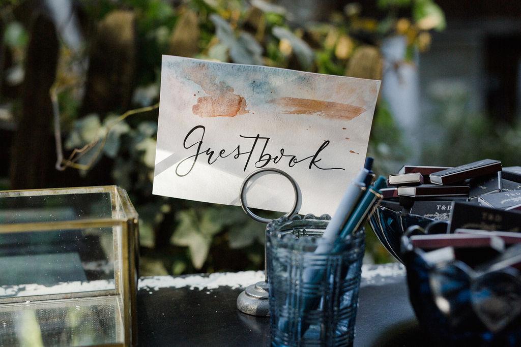 www.santabarbarawedding.com | Cold Spring Tavern | Wunderland & Co. | Braden Young | Guestbook