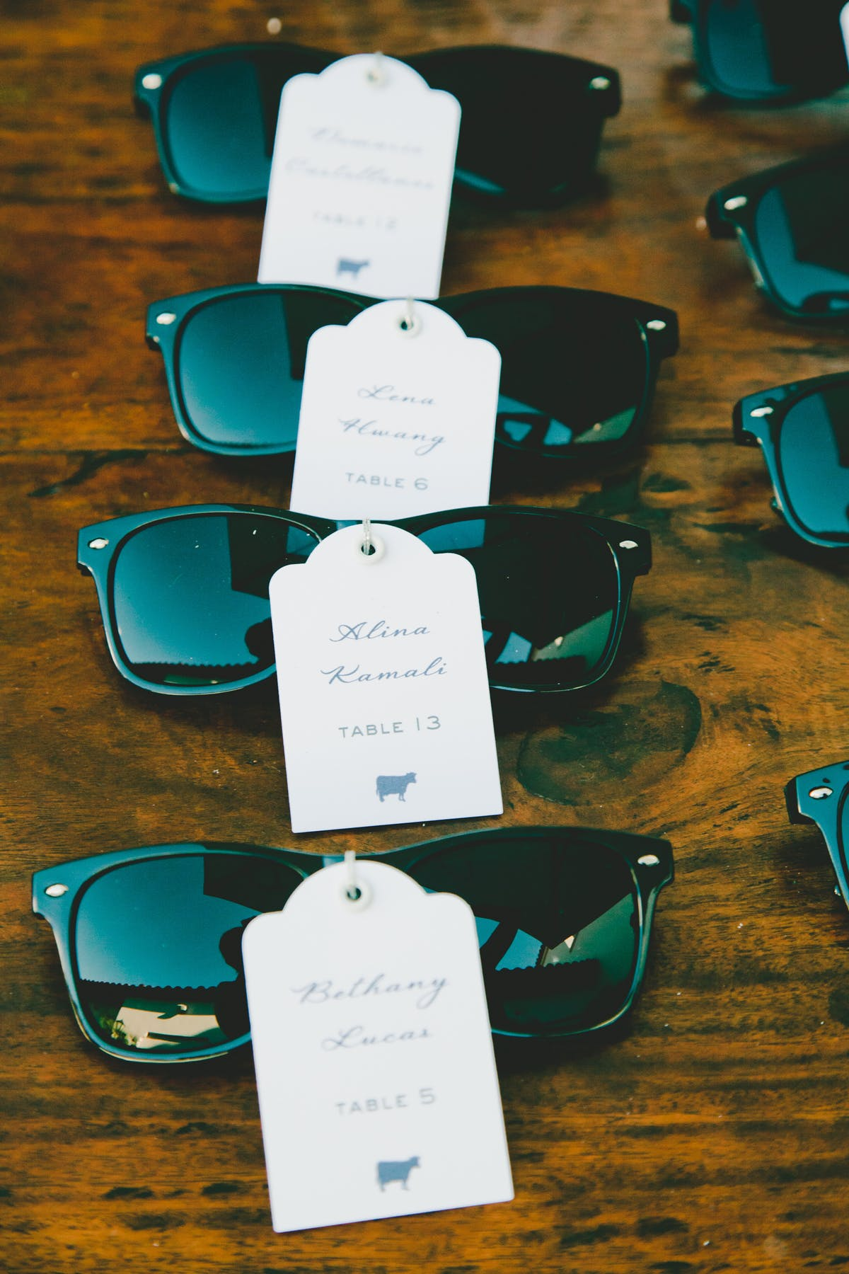 www.santabarbarawedding.com | Bacara Resort & Spa | Alegria By Design | onelove photography | Wedding Favors and Escort Cards