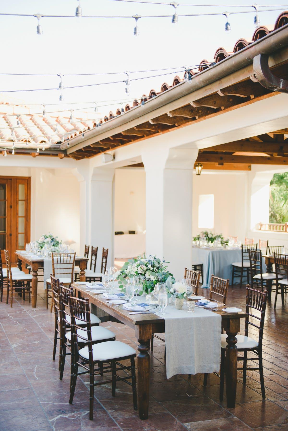 www.santabarbarawedding.com | Bacara Resort & Spa | Alegria By Design | onelove photography | Reception Tables