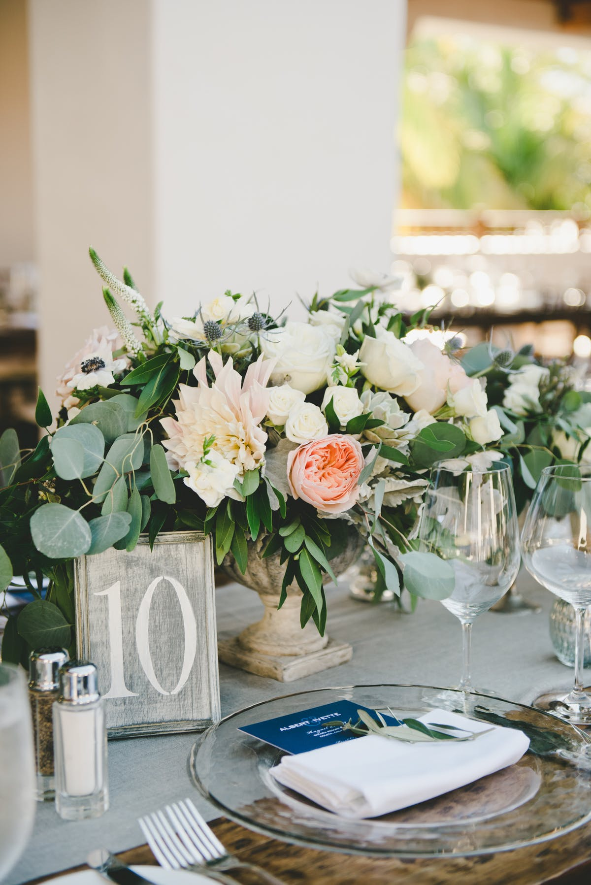 www.santabarbarawedding.com | Bacara Resort & Spa | Alegria By Design | onelove photography | Table Number