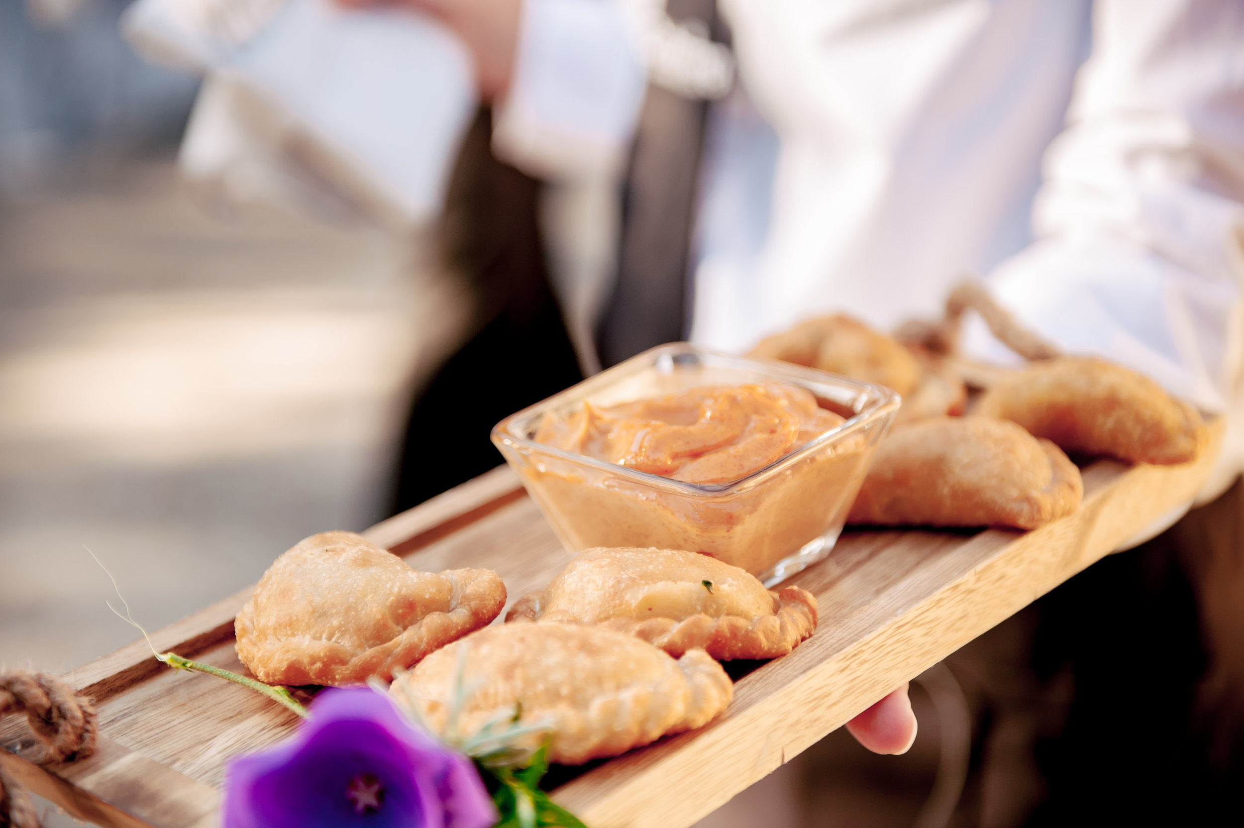 www.santabarbarawedding.com | Catering Connection | Empanada