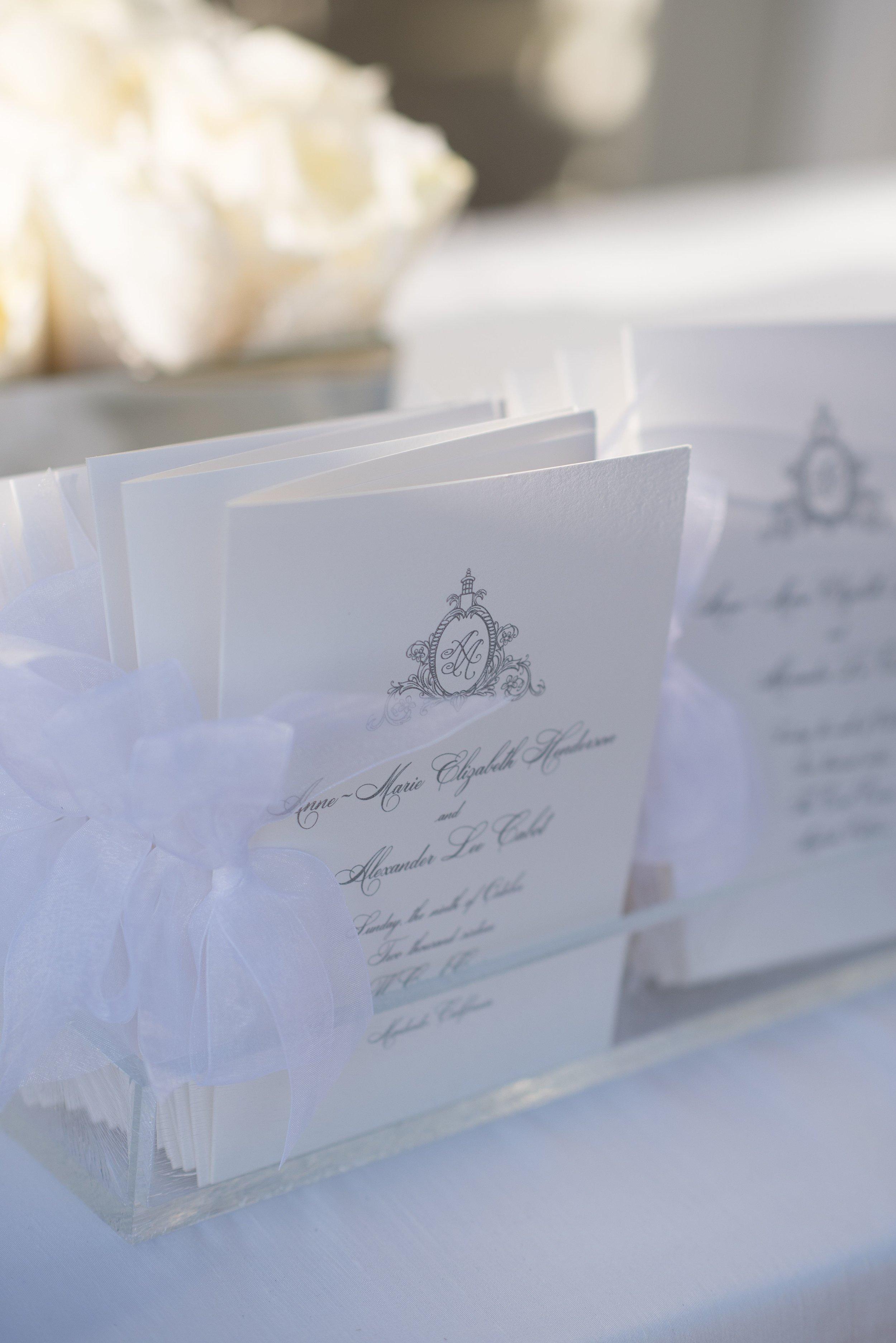 www.santabarbarawedding.com | Nate & Jenny Weddings | Four Seasons Resort The Biltmore | Ann Johnson Events | Florals by NICO | La Tavola | Wedding Ceremony Programs