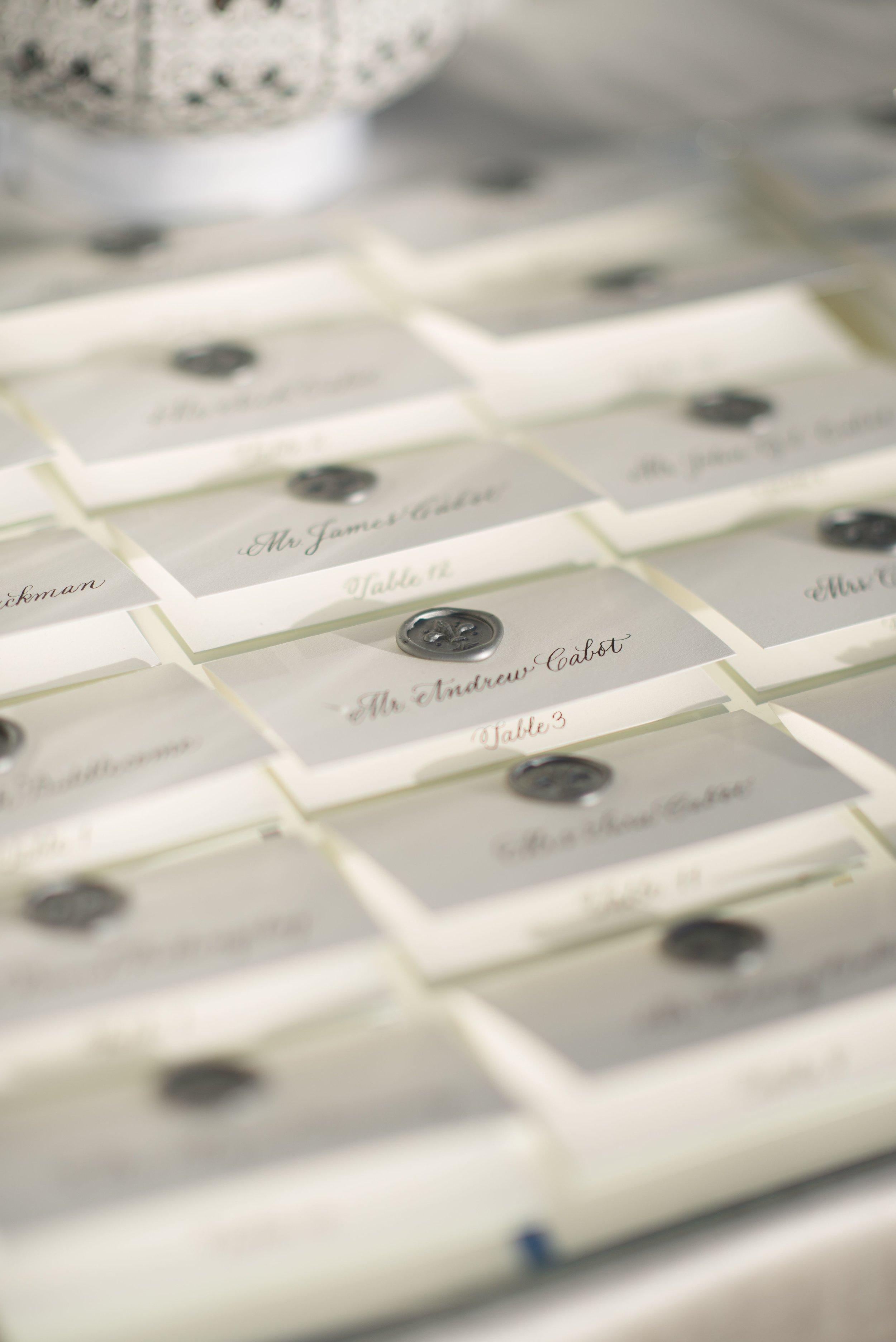 www.santabarbarawedding.com | Nate & Jenny Weddings | Four Seasons Resort The Biltmore | Ann Johnson Events | La Tavola | Wedding Escort Cards