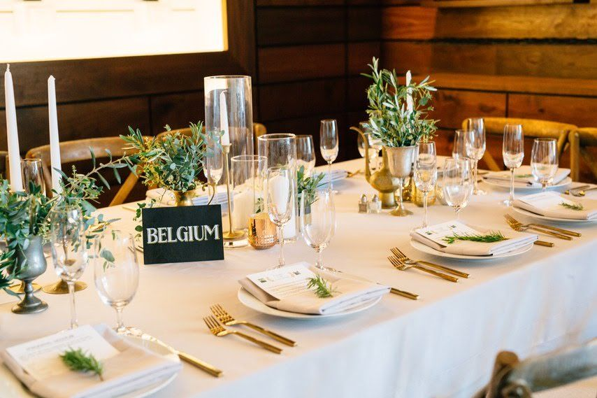www.santabarabawedding.com | Photographer:Michael Stephens Photography | Venue: Presqu'ile Winery | Wedding Planner: Korinna Peterson of Le Festin Events | Table Setting