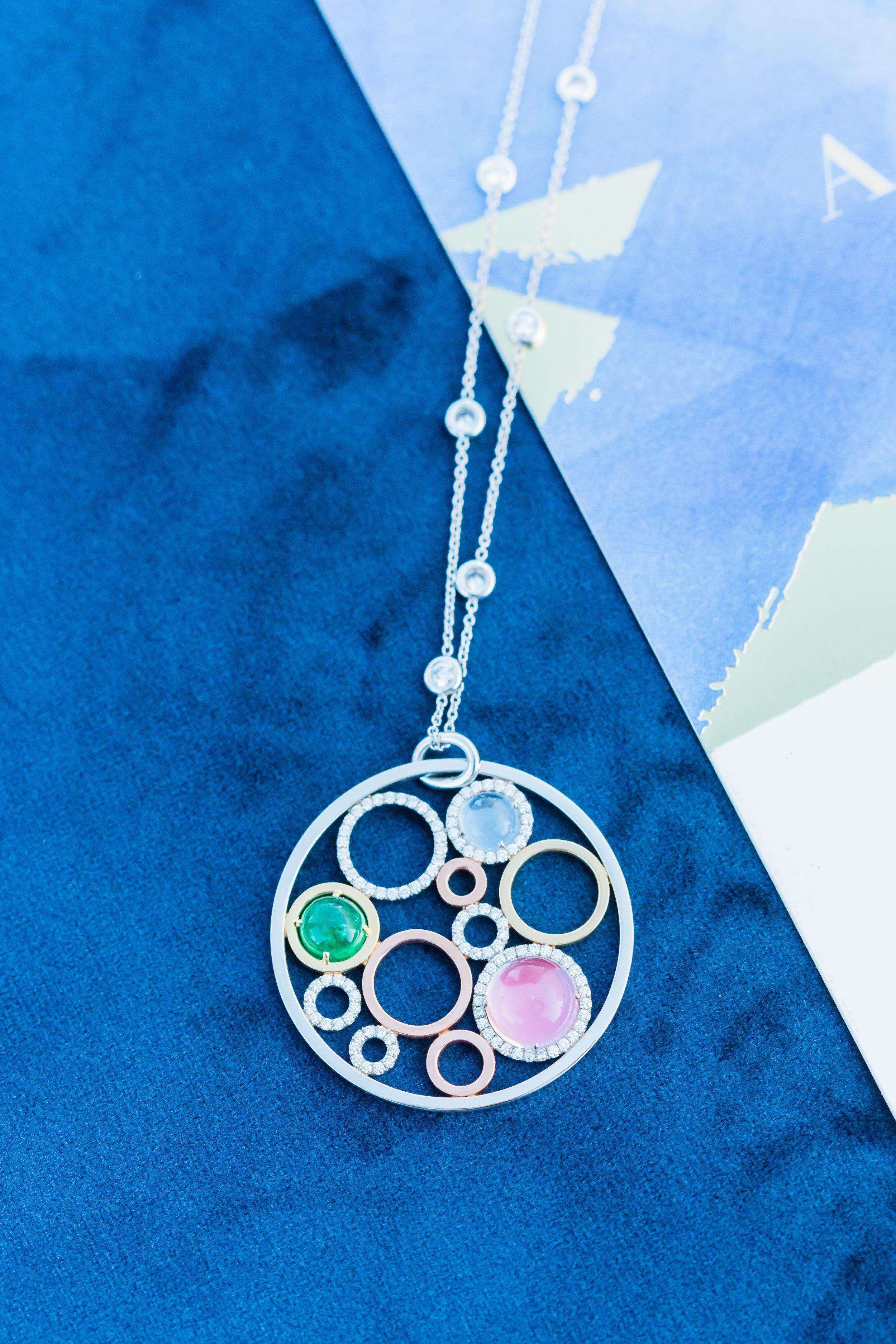 www.santabarbarawedding.com | Ann Johnson Events | MOXI | James & Jess | Necklace