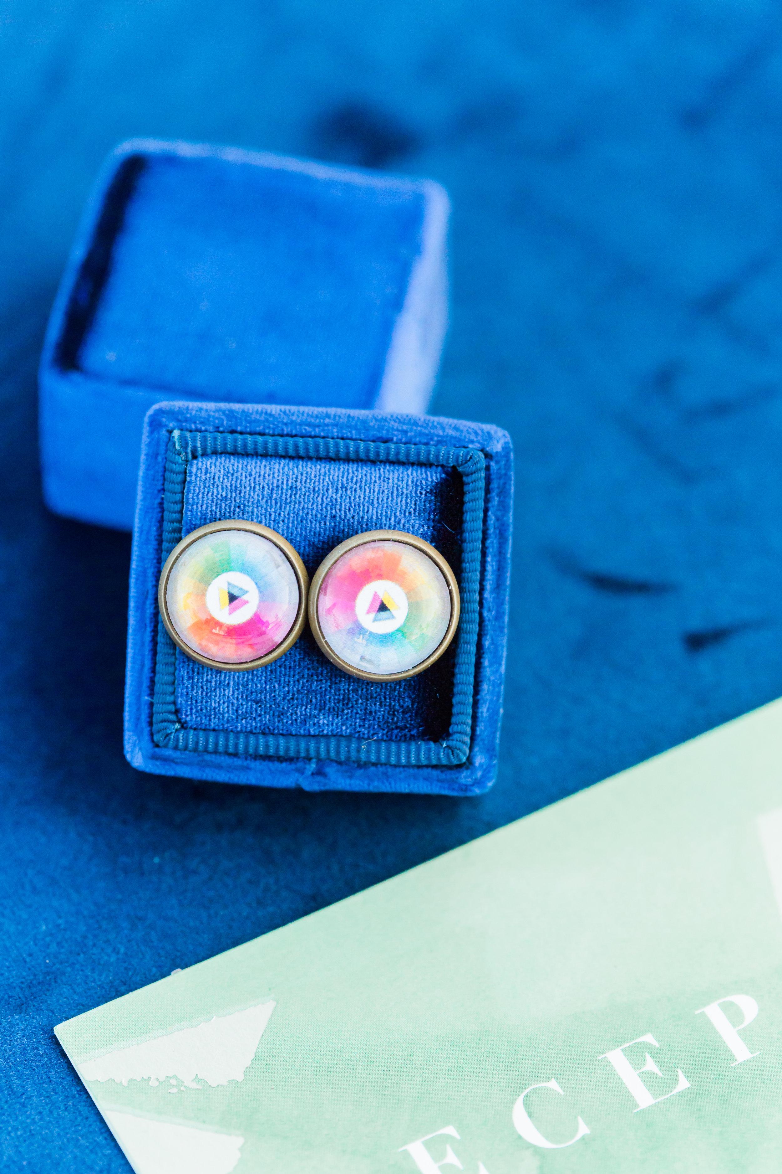 www.santabarbarawedding.com | Ann Johnson Events | MOXI | James & Jess | Earrings