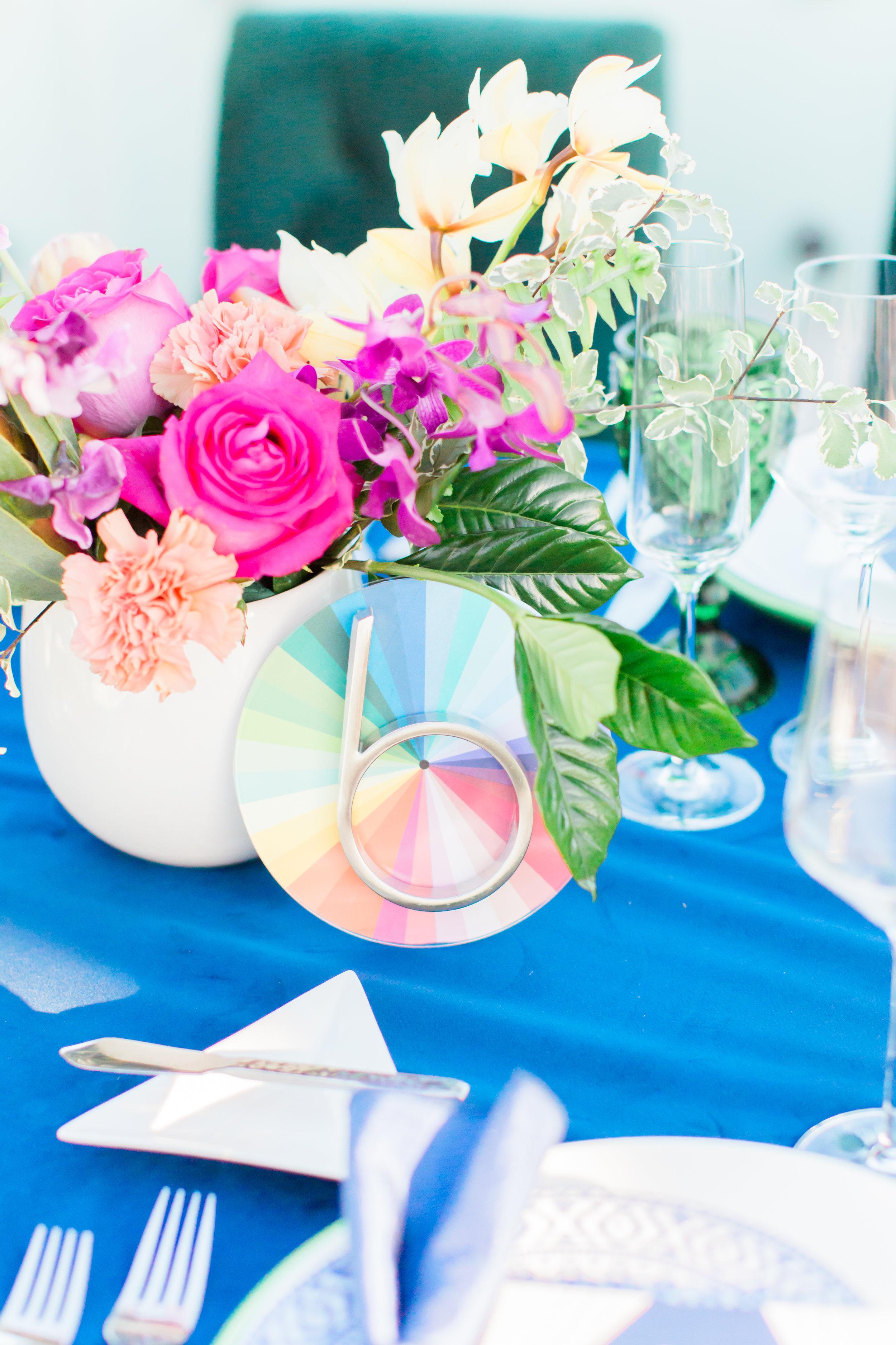 www.santabarbarawedding.com | Ann Johnson Events | MOXI | James & Jess | Table Number